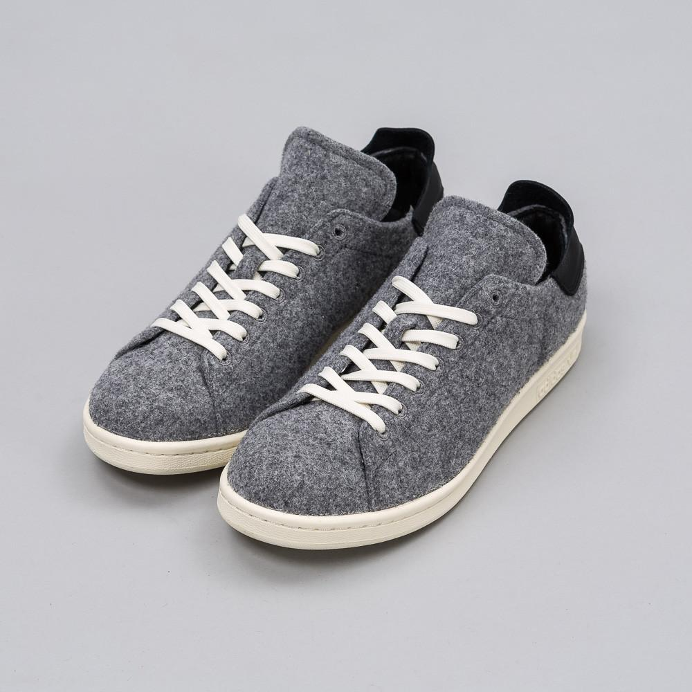 big sale be55d 2dff3 adidas Originals Stan Smith Pc In Grey Wool in Gray for Men - Lyst