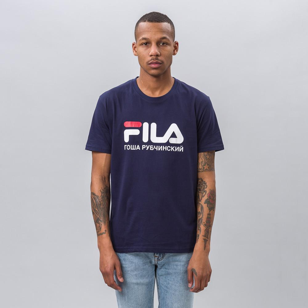 d4fcd4d5 Gosha Rubchinskiy Blue Fila T-shirt In Navy for men
