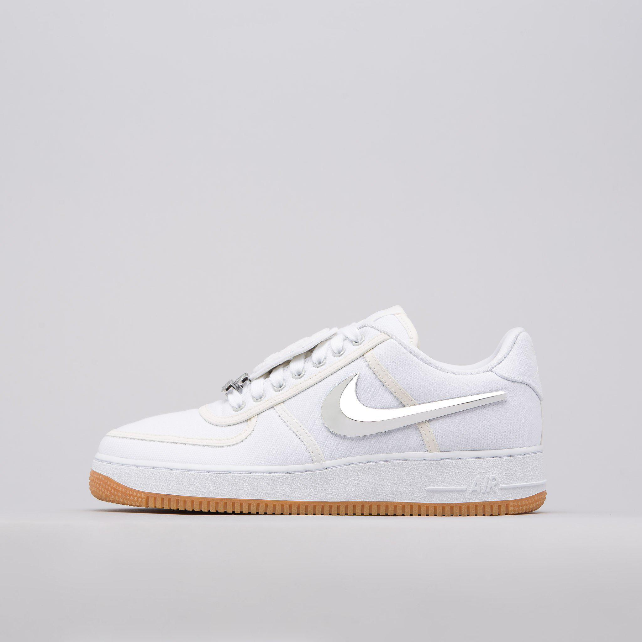 huge discount dc4e9 d7637 Nike X Travis Scott Air Force 1 Low In White for men