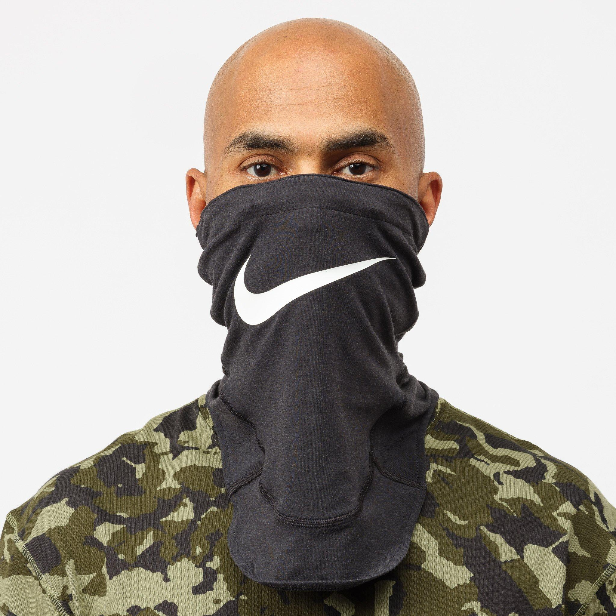 Nike Synthetic Mmw Face Mask In Black For Men