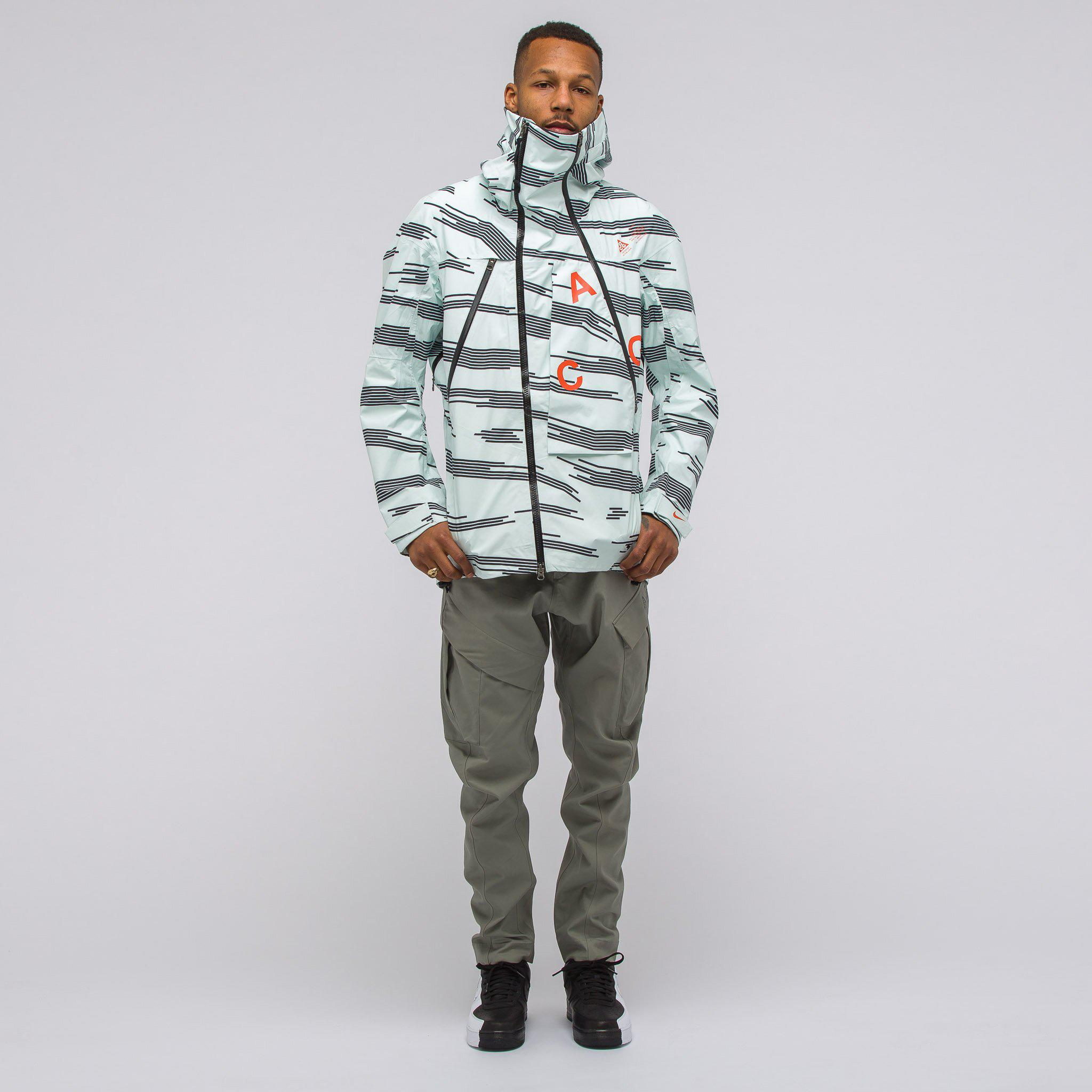 Temblar Lágrimas enlazar  Nike Synthetic Acg Alpine Jacket In Barely Green for Men - Lyst
