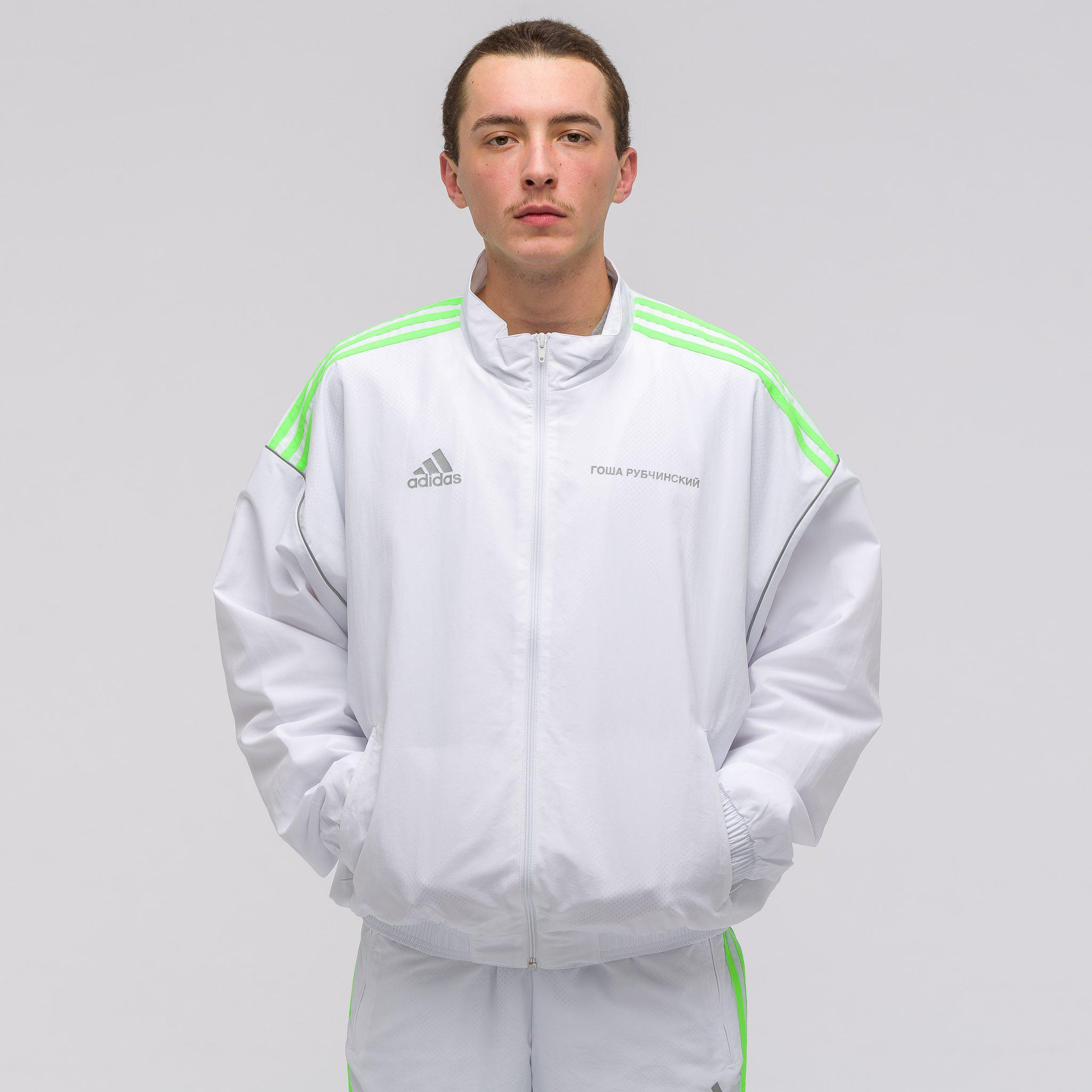 buy popular 62ec0 d6439 Gosha Rubchinskiy X Adidas Track Jacket In White for men