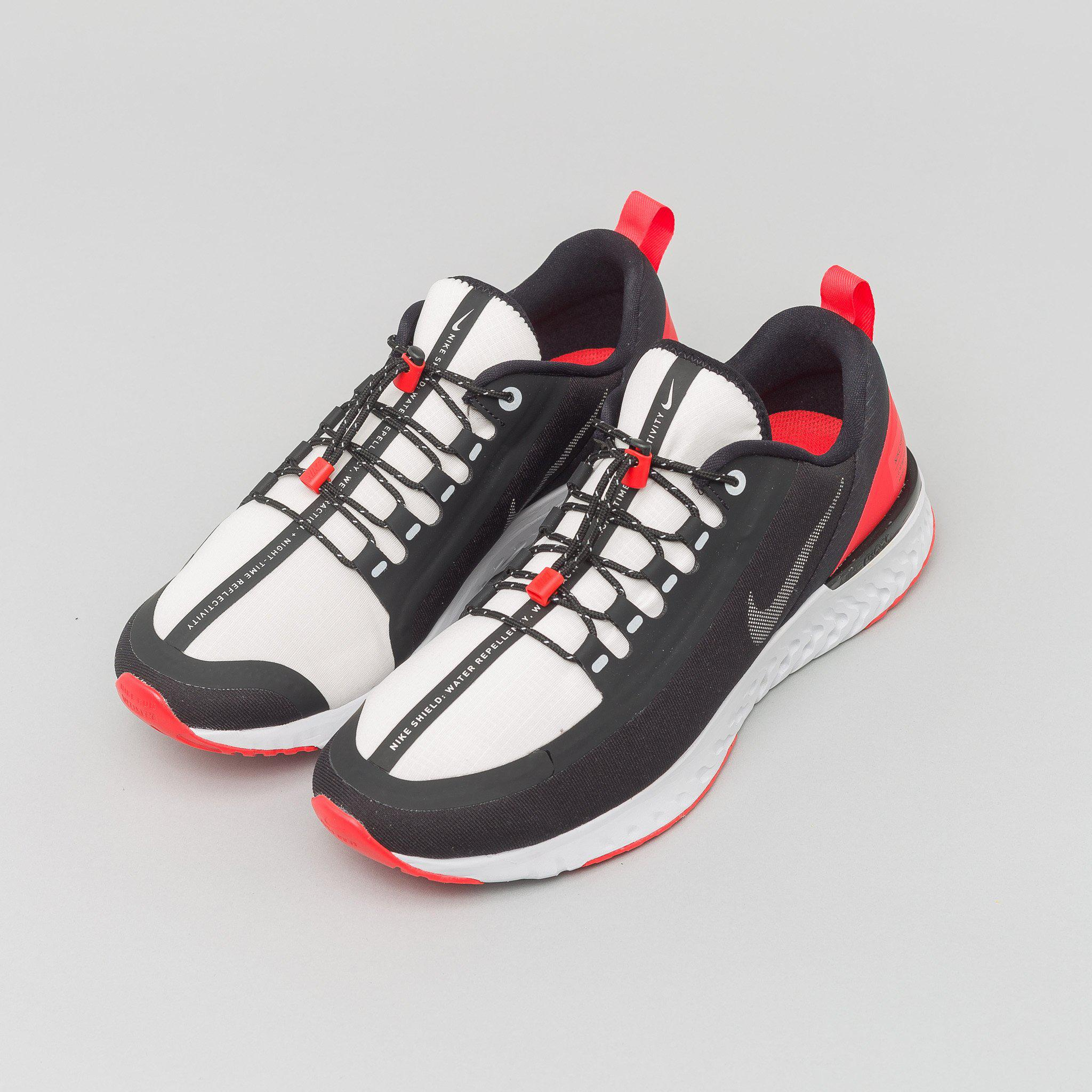 new style a61d5 747dc Men's Odyssey React Shield Nrg In Black/silver/red