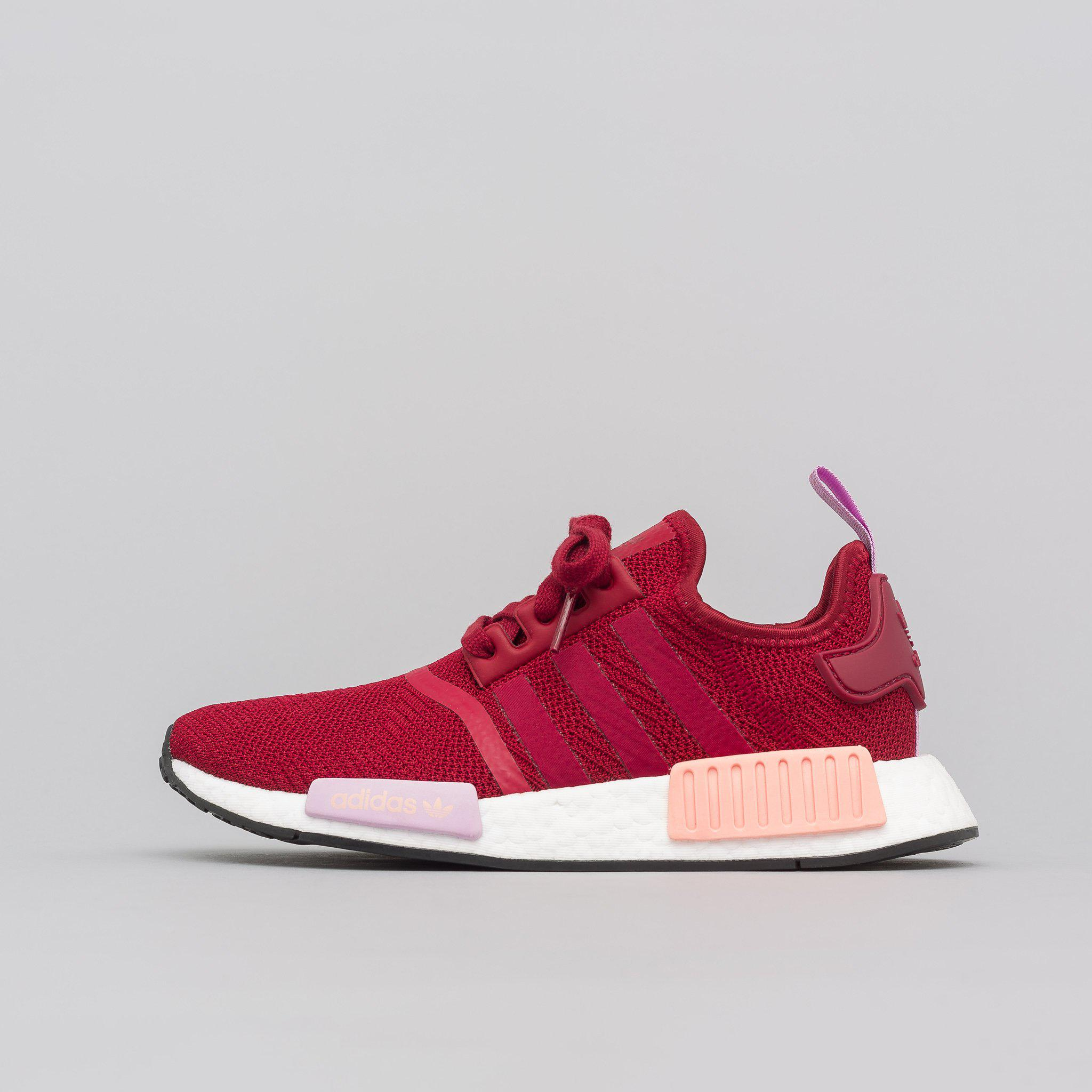san francisco 437bc 87bad Adidas Multicolor Women's Nmd R1 In Burgundy for men