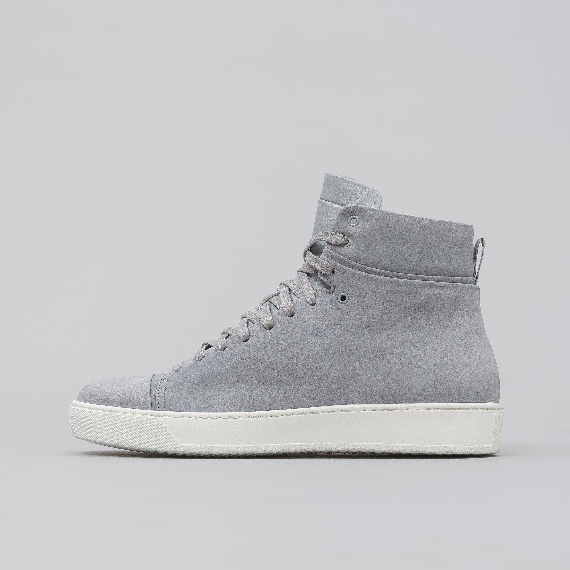 Men Elliott In Nubuck Leather For High Grey Top John Gray kPZiuOX