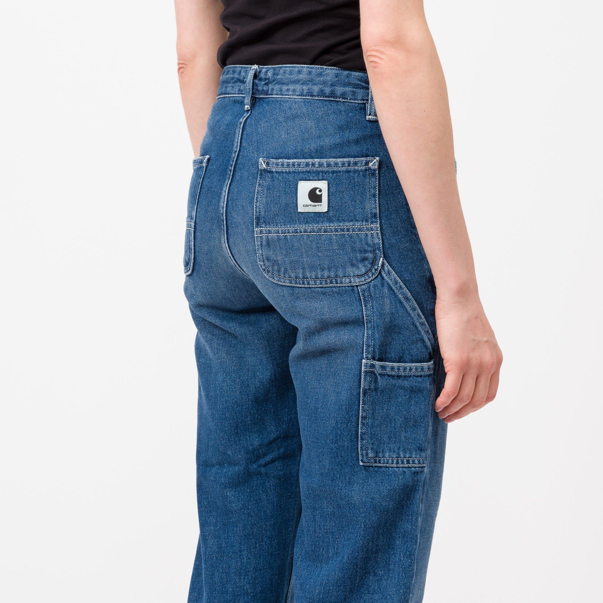 Carhartt WIP Jeans Pierce Pant Blue Dark Stone Wash