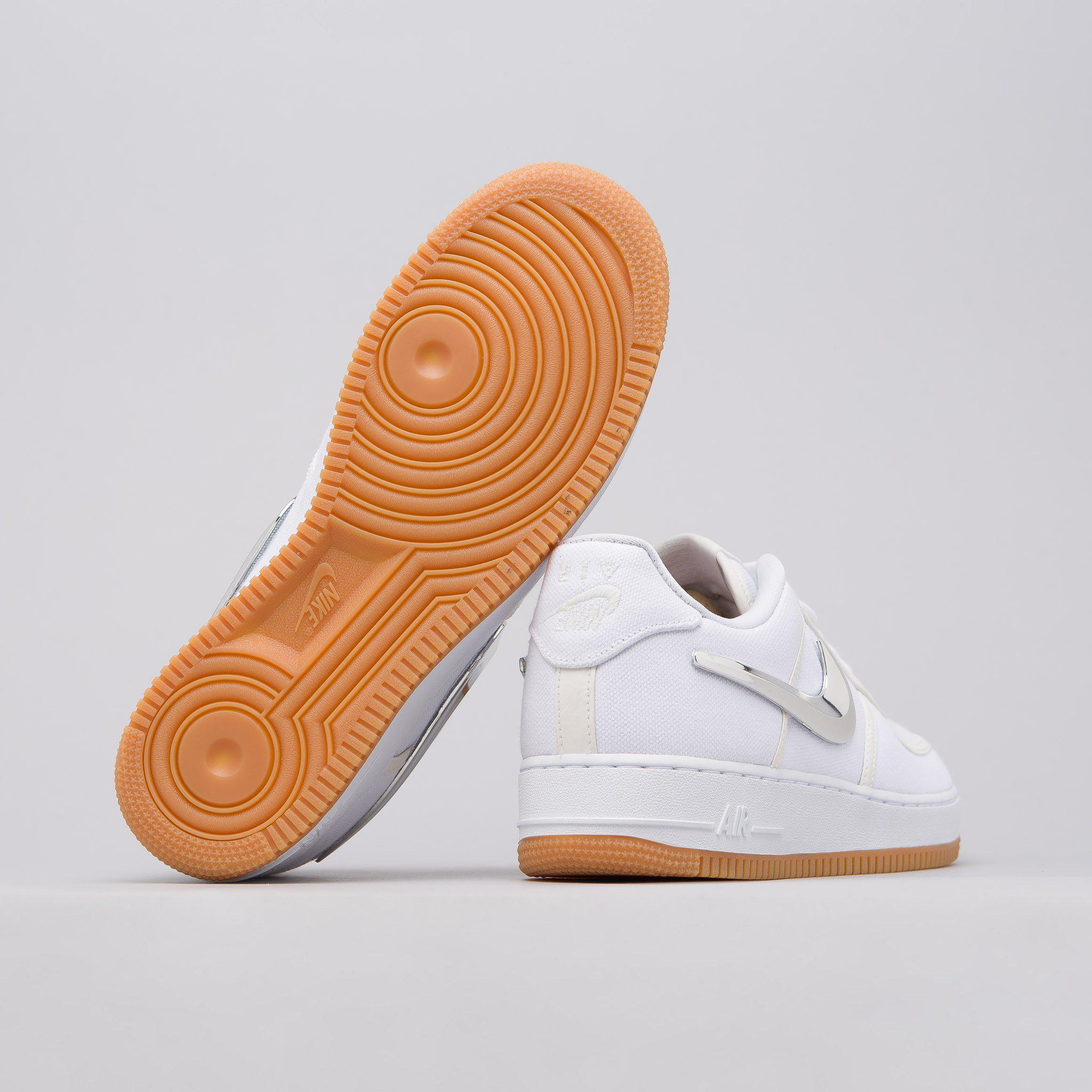 74cbd78c7cc5b Nike X Travis Scott Air Force 1 Low In White for men