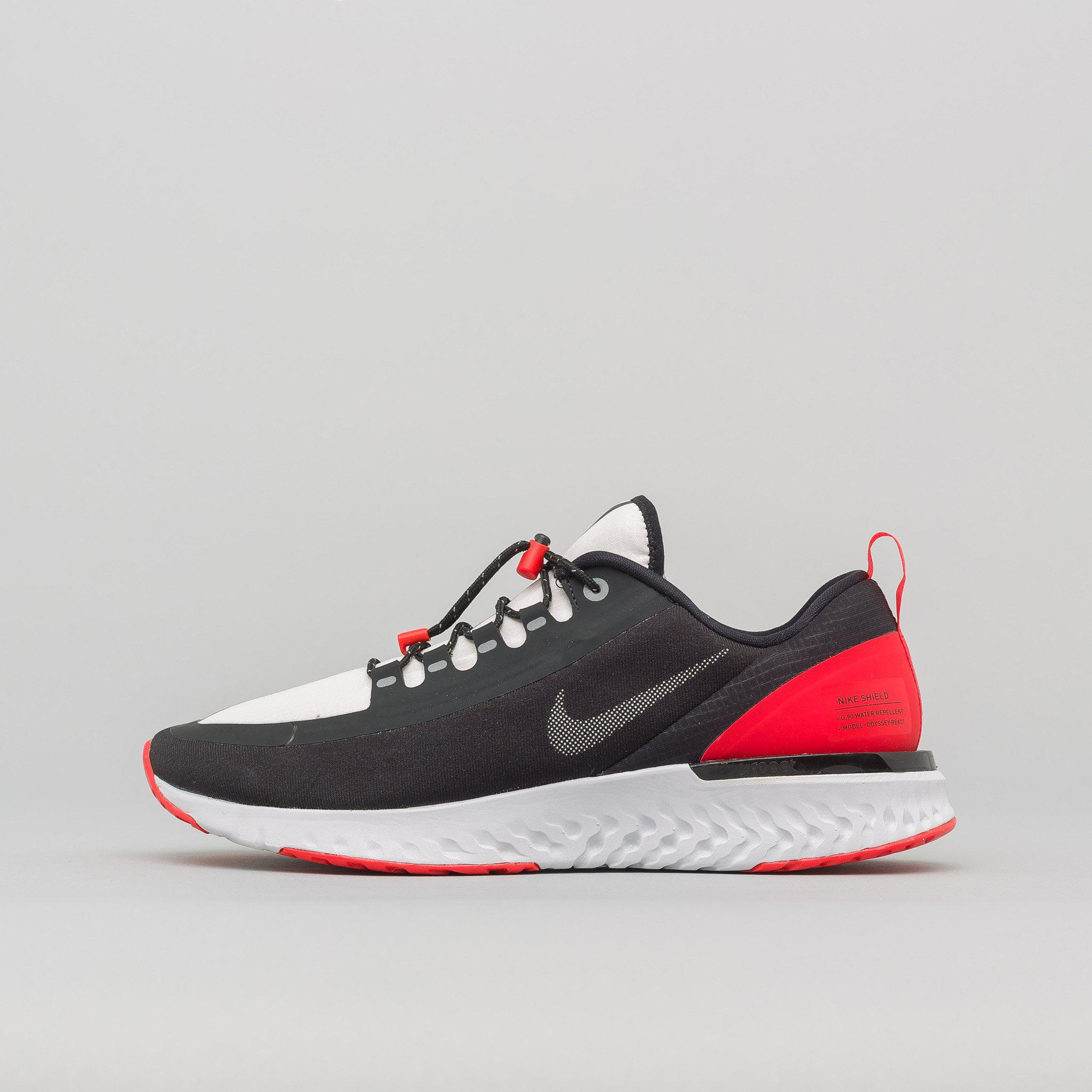 online store 5b6d5 d2279 ... switzerland nike. mens odyssey react shield nrg in black silver red  7b4c8 dca13
