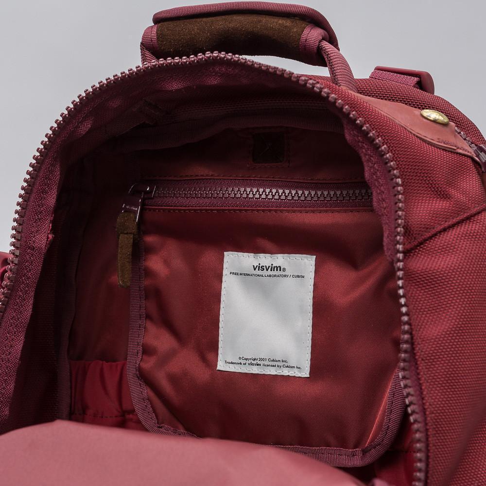 fabcfd99b8e0 Lyst - Visvim Ballistic 20l Backpack In Burgundy in Red for Men