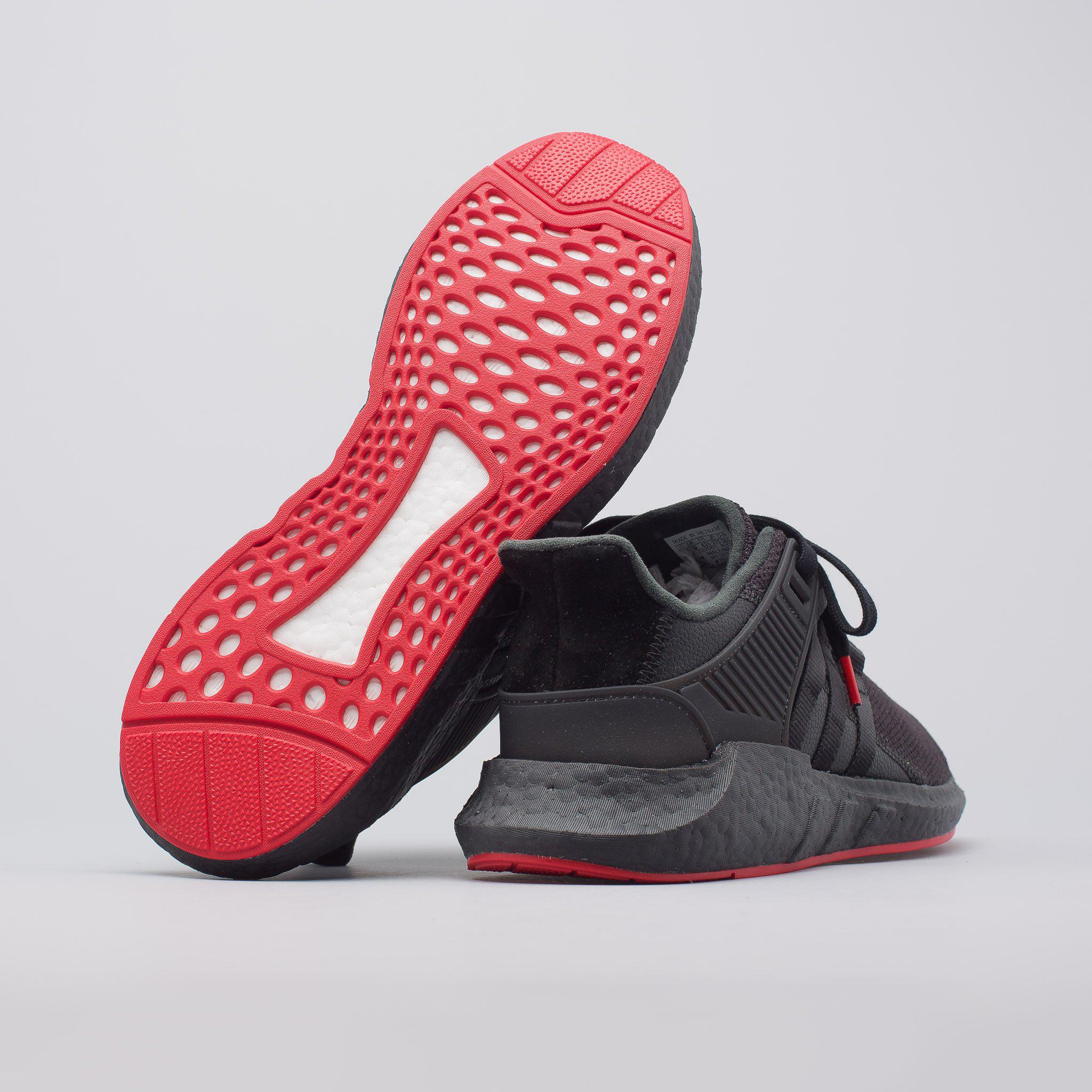 separation shoes be9ee d8c5e Lyst - adidas Eqt Support 9317 Red Carpet In Core Black in B