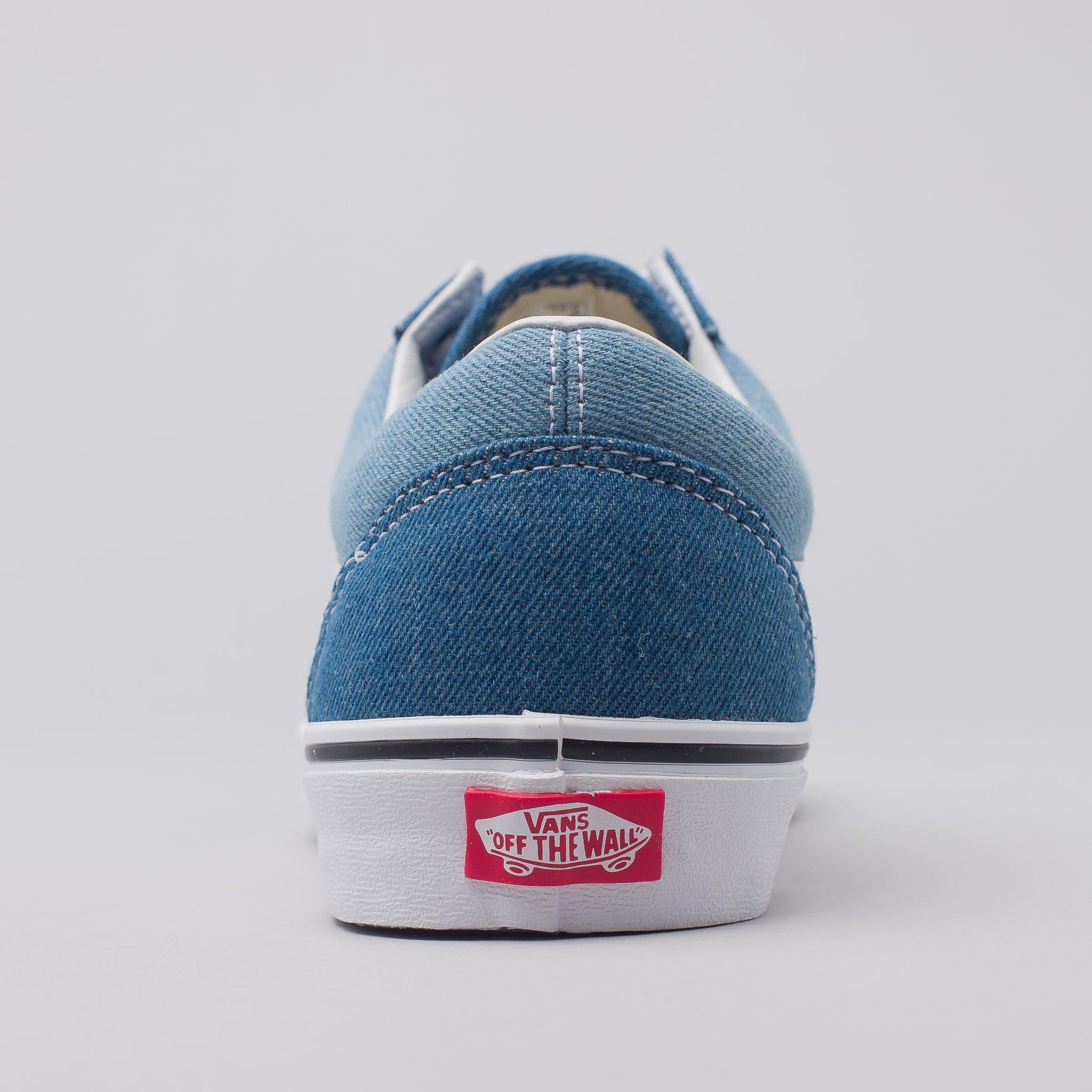 005fa64765 Lyst - Vans Old Skool Denim 2-tone In Blue in Blue for Men