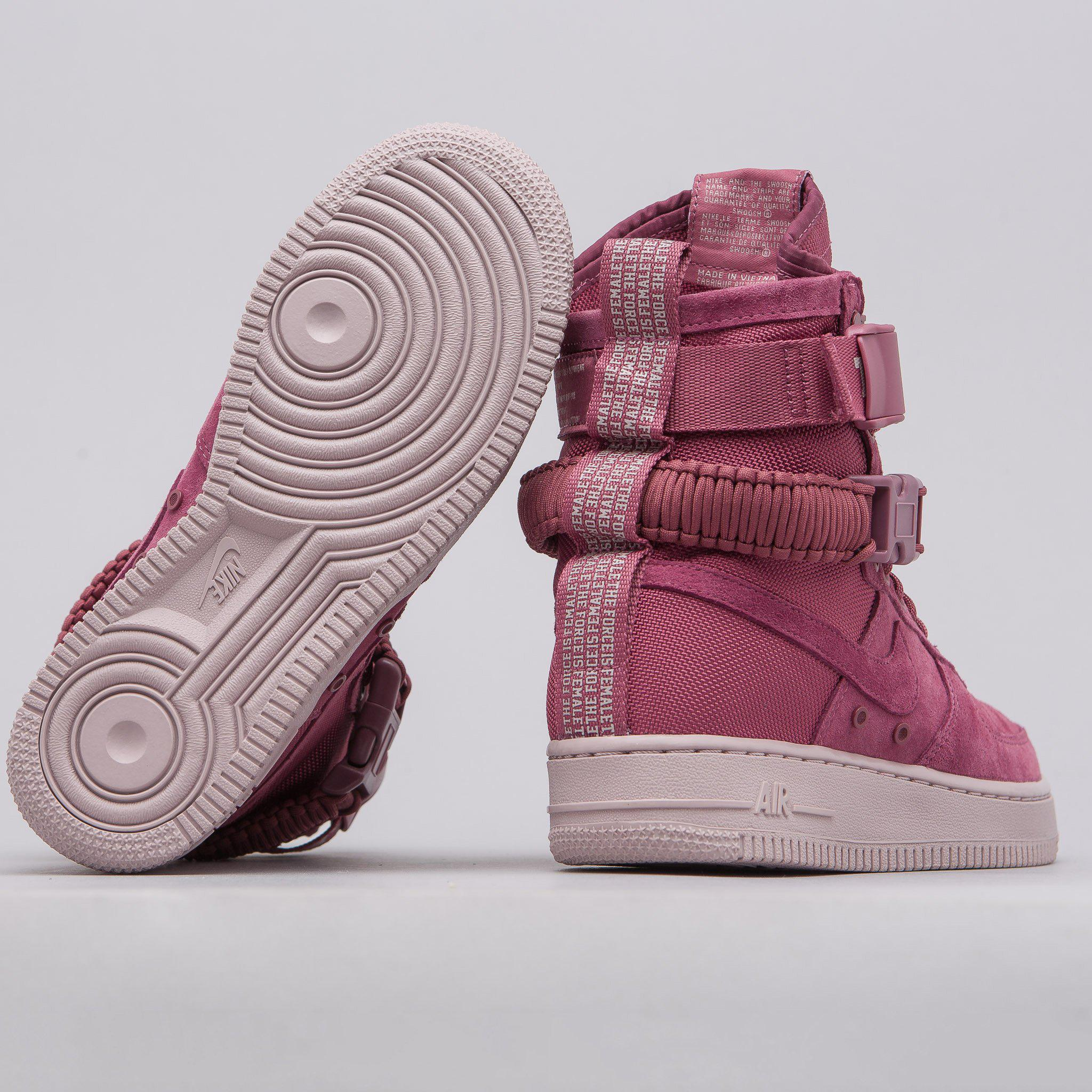 super popular d2615 b66f9 Women's Sf Af1 Force Is Female In Port Wine