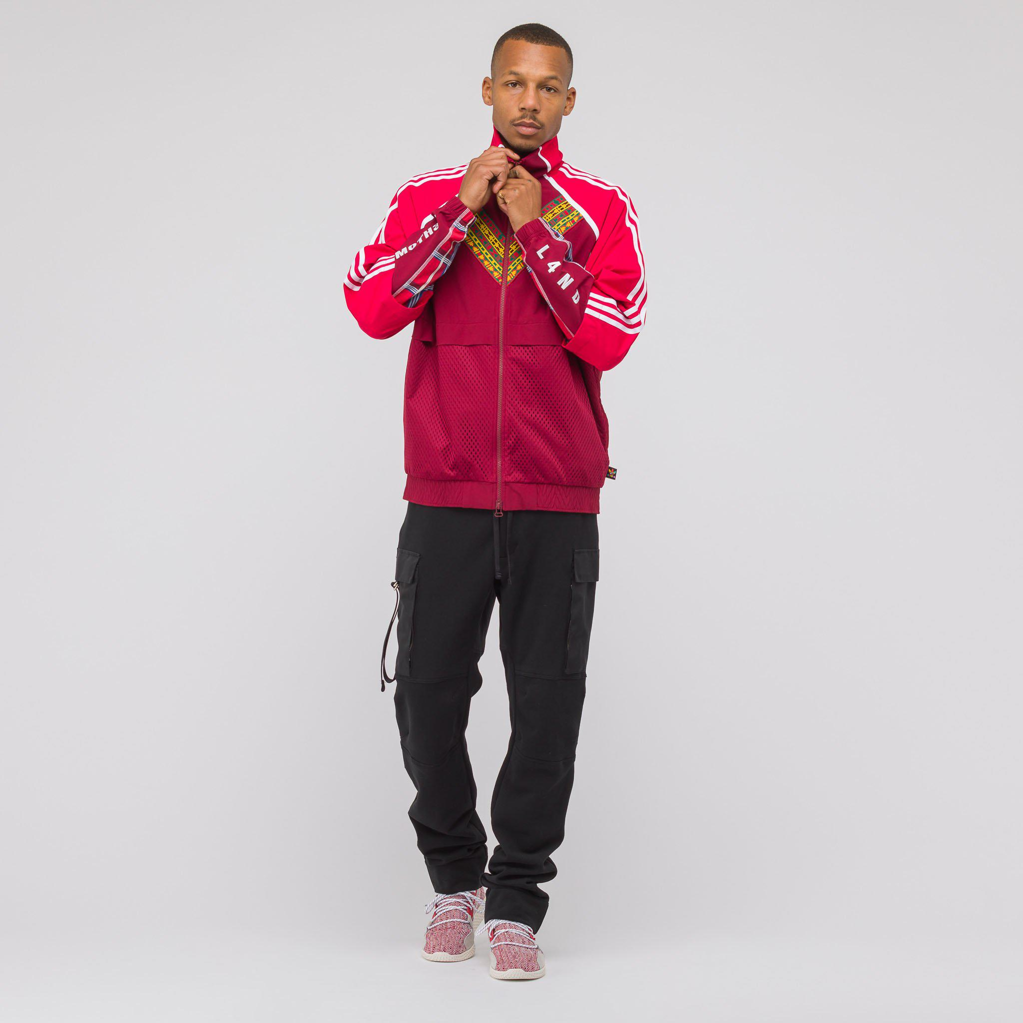 e1fe57bca Lyst - adidas X Pharrell Williams Solar Hu Track Top In Red in Red ...