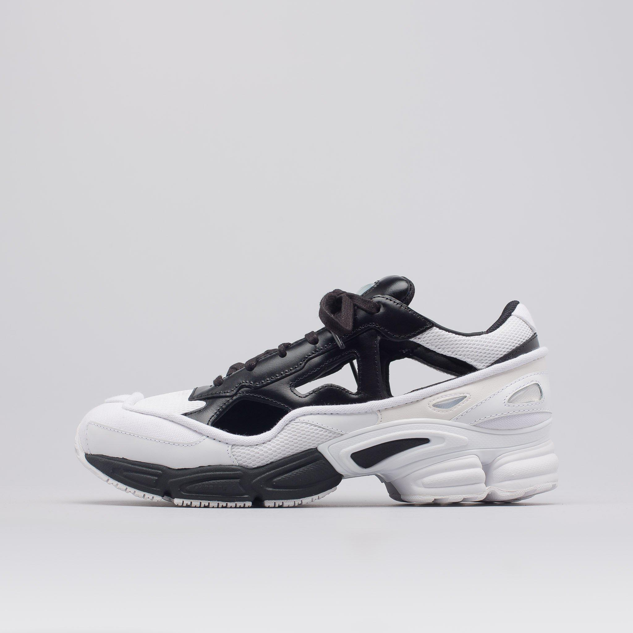 d75afd24bbe Lyst - adidas By Raf Simons Replicant Ozweego In Black white in ...