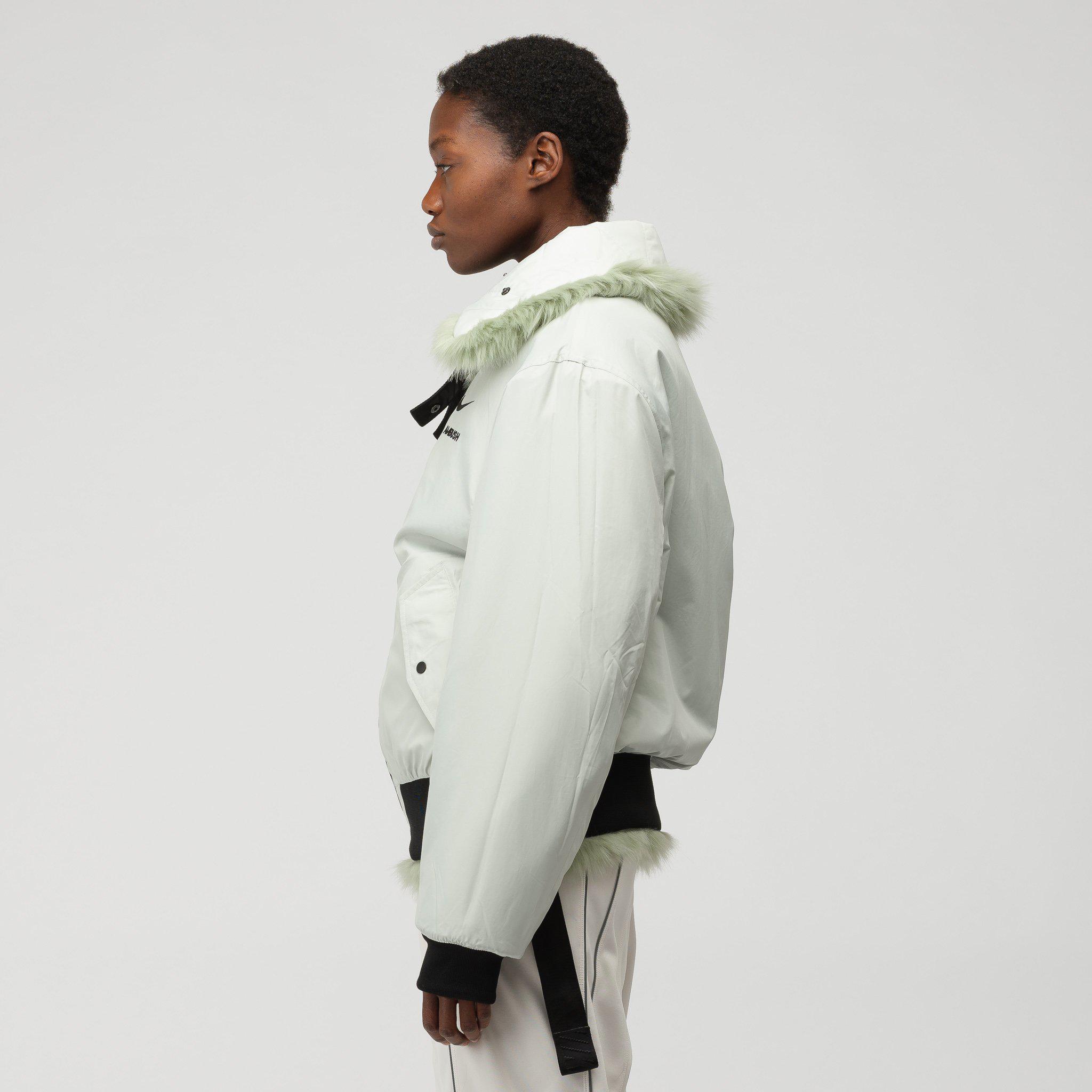 Nike X Ambush Women's Reversible Faux-fur Coat In Jade in ...