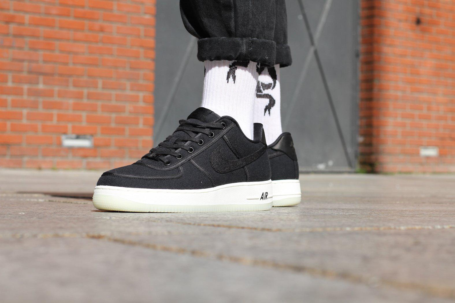 ce207394723 Lyst - Nike Air Force 1 Low Retro Qs Canvas in Black for Men