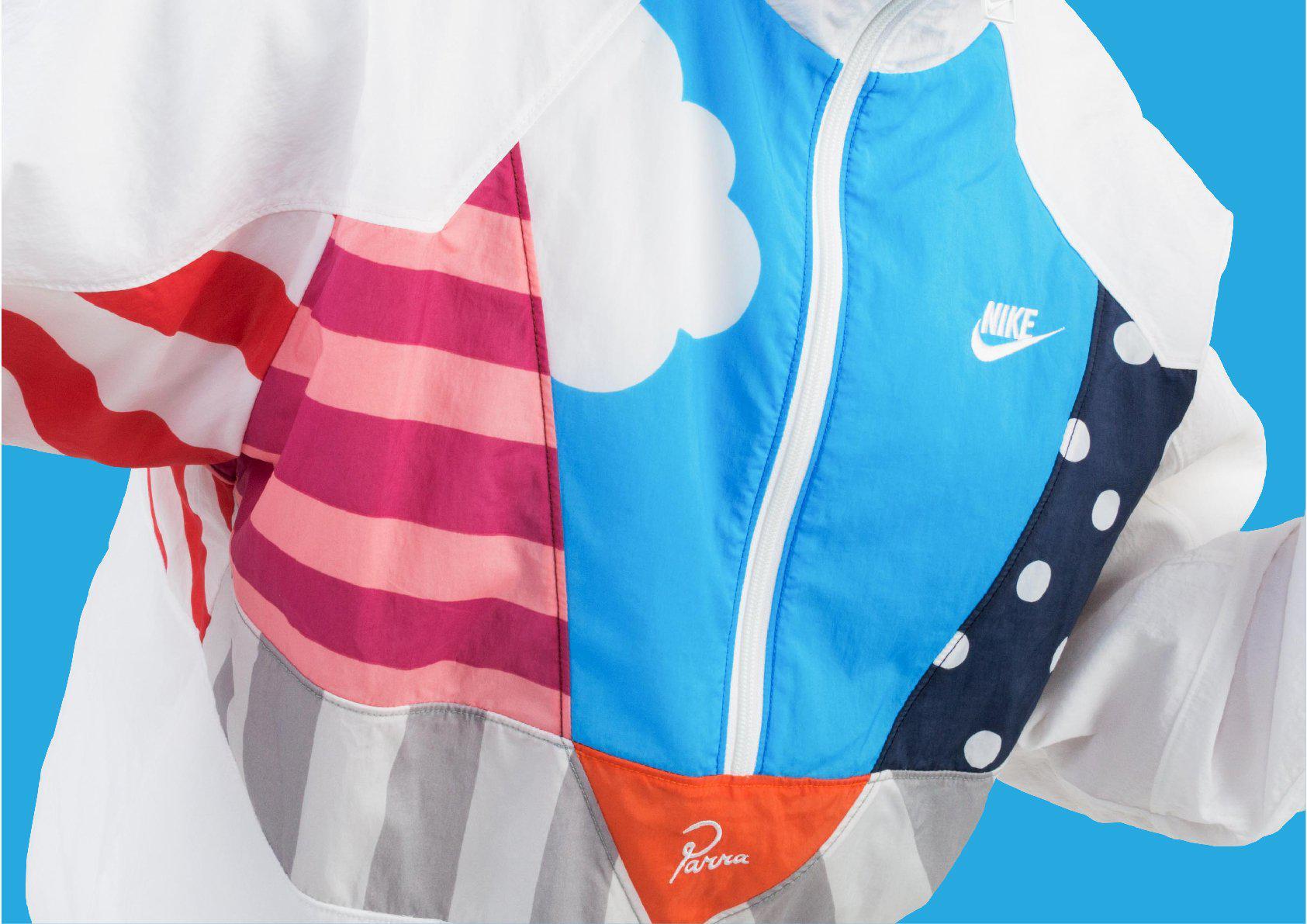 7a956c2af9 Nike X Parra: Warm Up Tracksuit in Blue for Men - Lyst