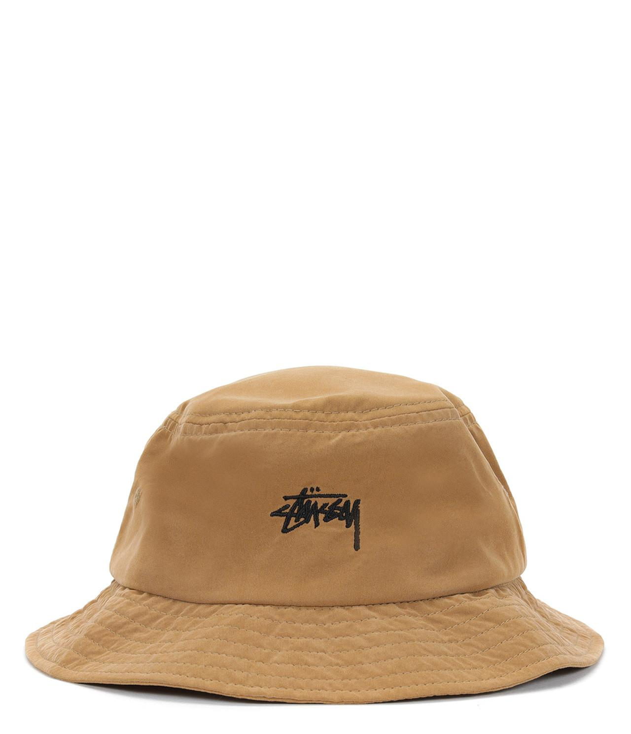 d40763045b6 Stussy Stock Bucket Hat in Natural for Men - Lyst