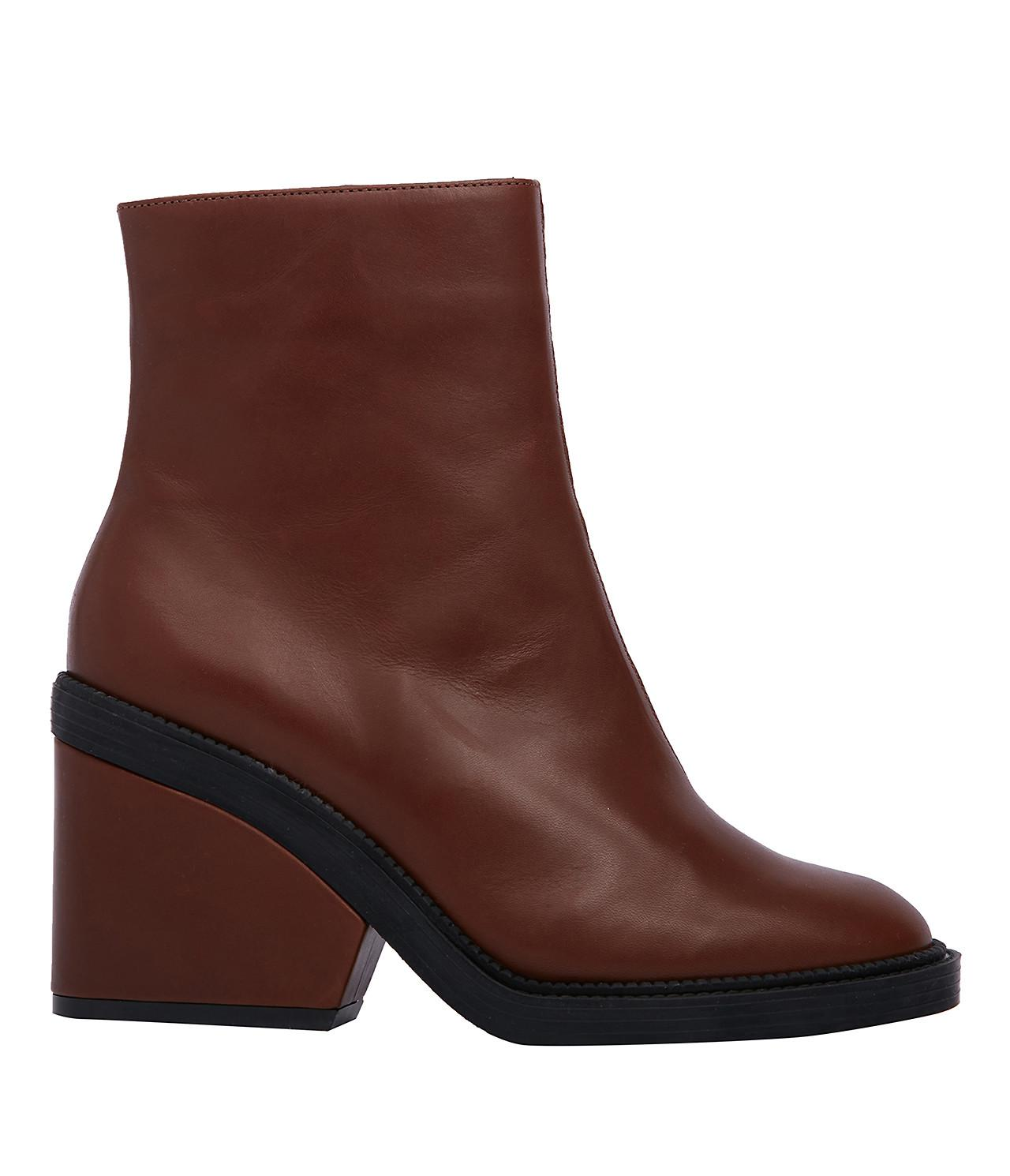 Robert Clergerie Leather Cap-Toe Ankle Boots buy cheap very cheap buy cheap cheap ti9l8