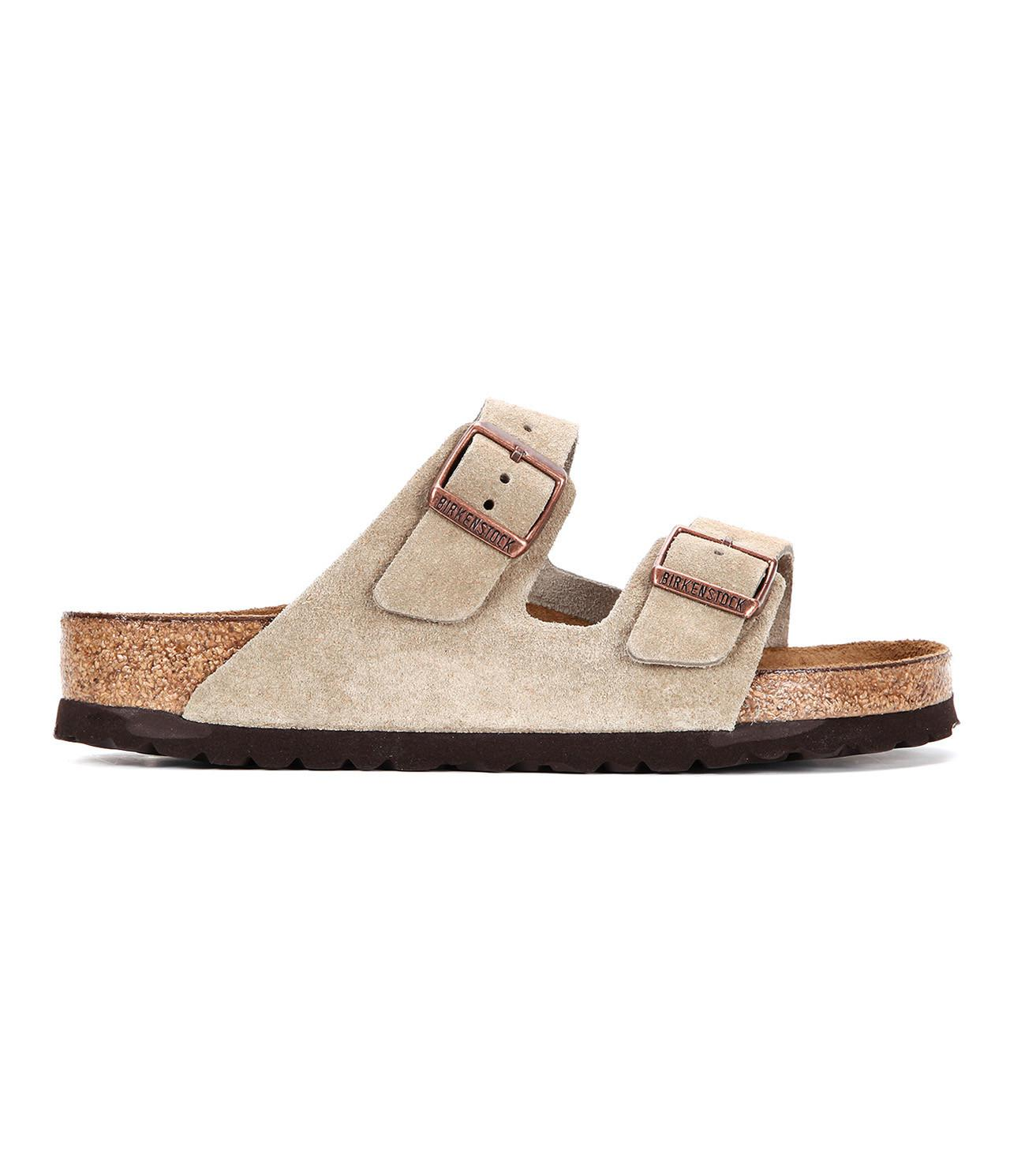 02321a6a01e5 Birkenstock - Brown Arizona Soft Footbed Suede for Men - Lyst. View  fullscreen
