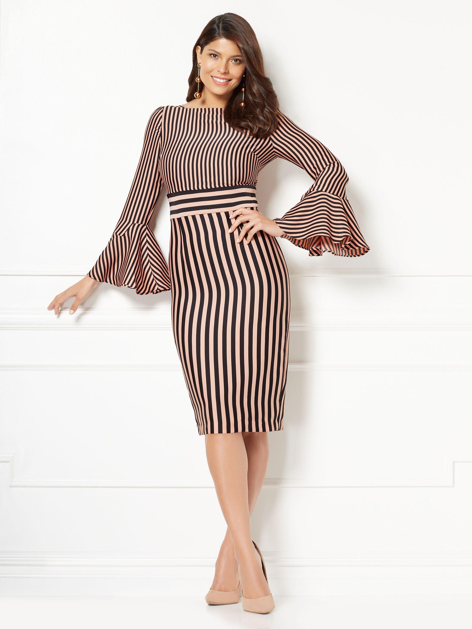db0874ee0c1 New York   Company Eva Mendes Collection - Amal Sheath Dress in ...