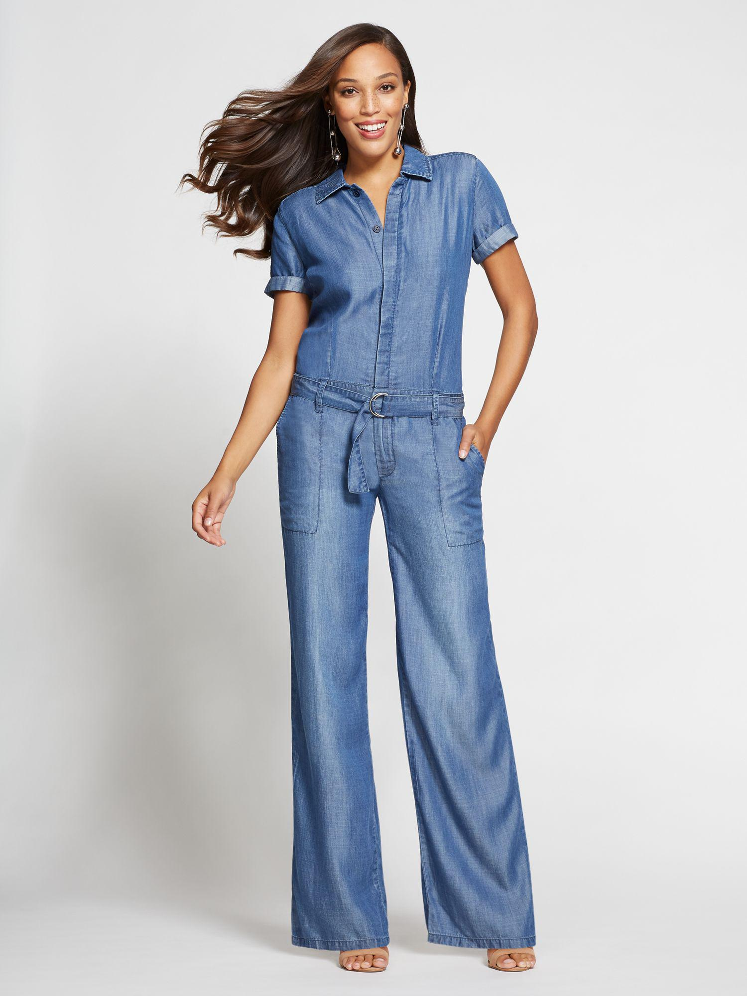 bf6917002c9 Lyst - New York   Company Gabrielle Union Collection - Jumpsuit ...