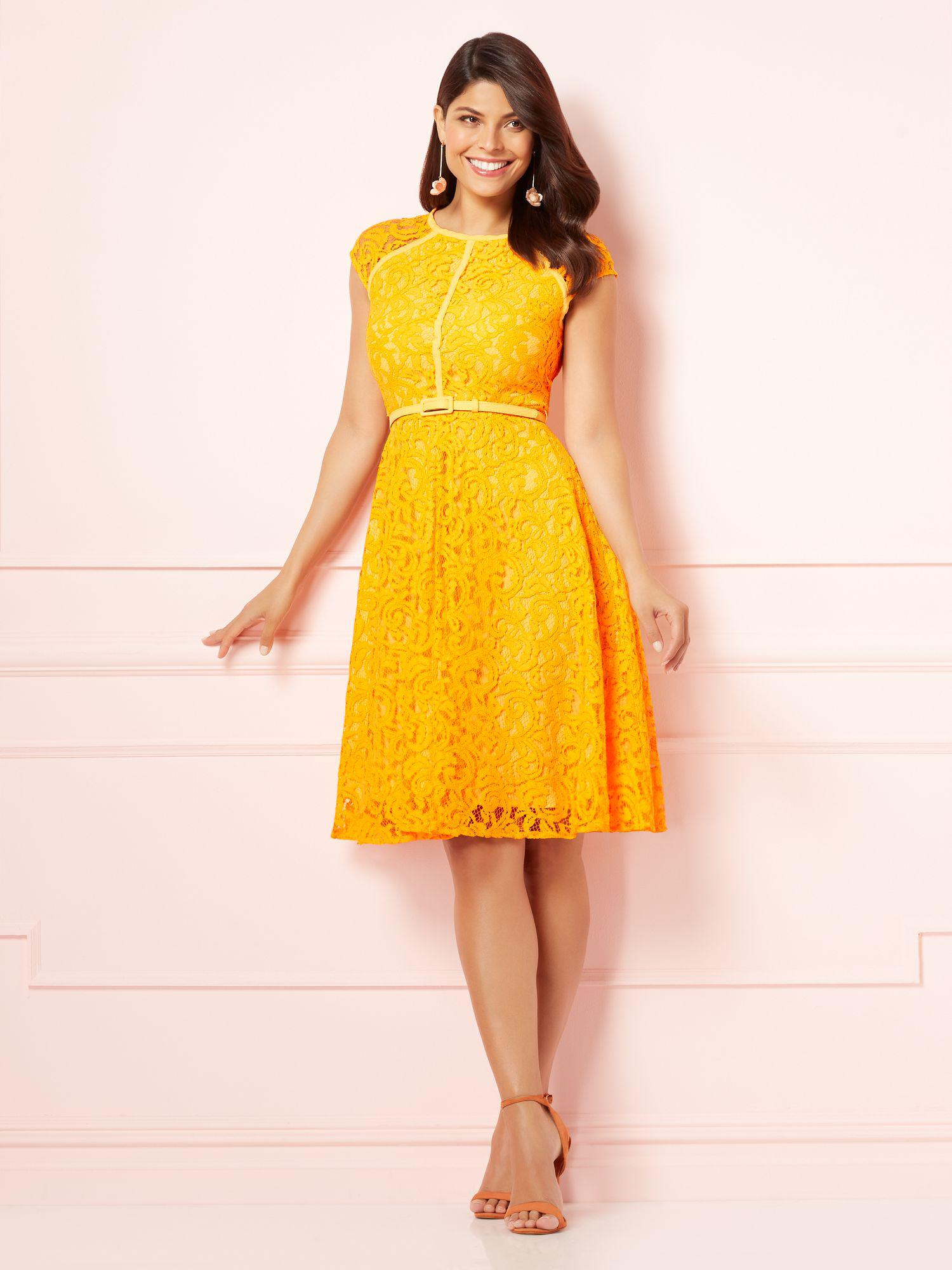 5e5481a4 Gallery. Previously sold at: New York & Company · Women's Yellow Dresses