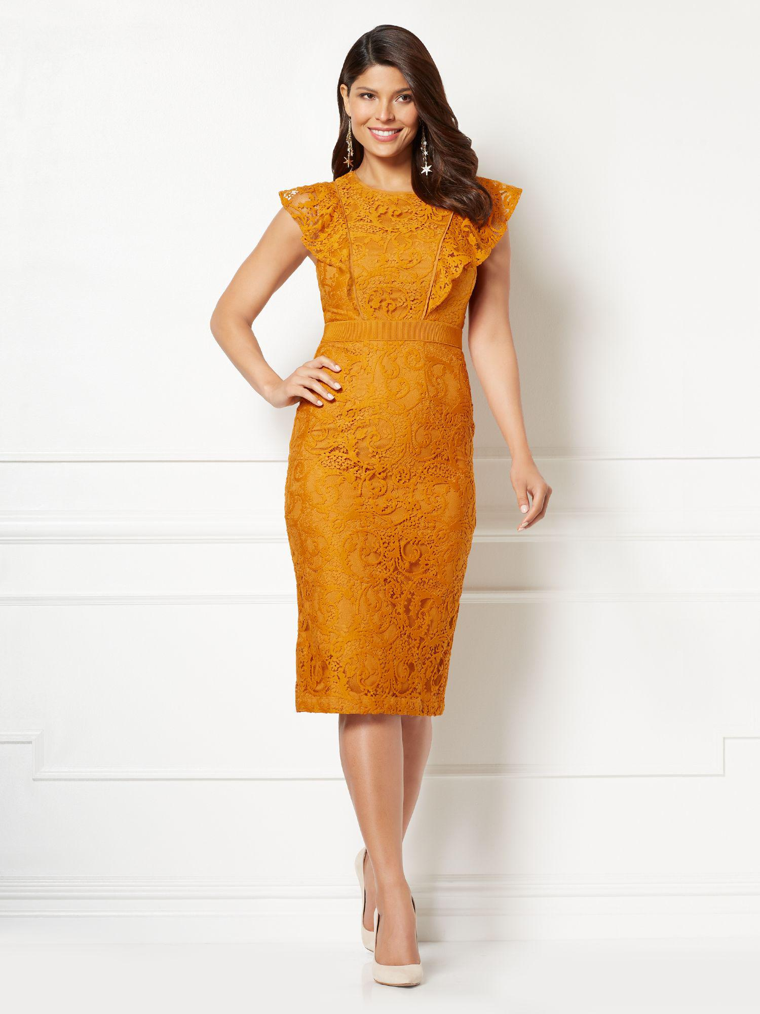 7ad3f99b Gallery. Previously sold at: New York & Company · Women's Orange Dresses