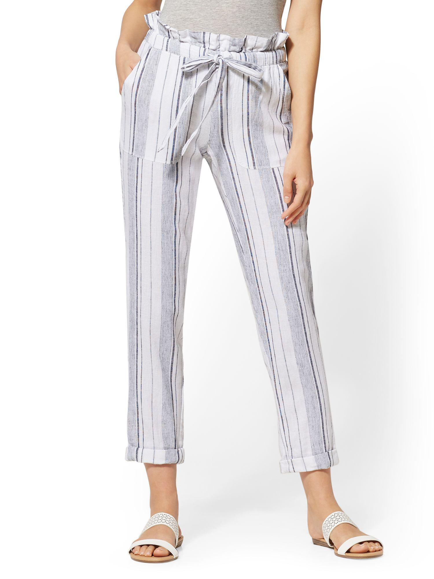 26257461d50 Gallery. Previously sold at  New York   Company · Women s Linen Pants ...