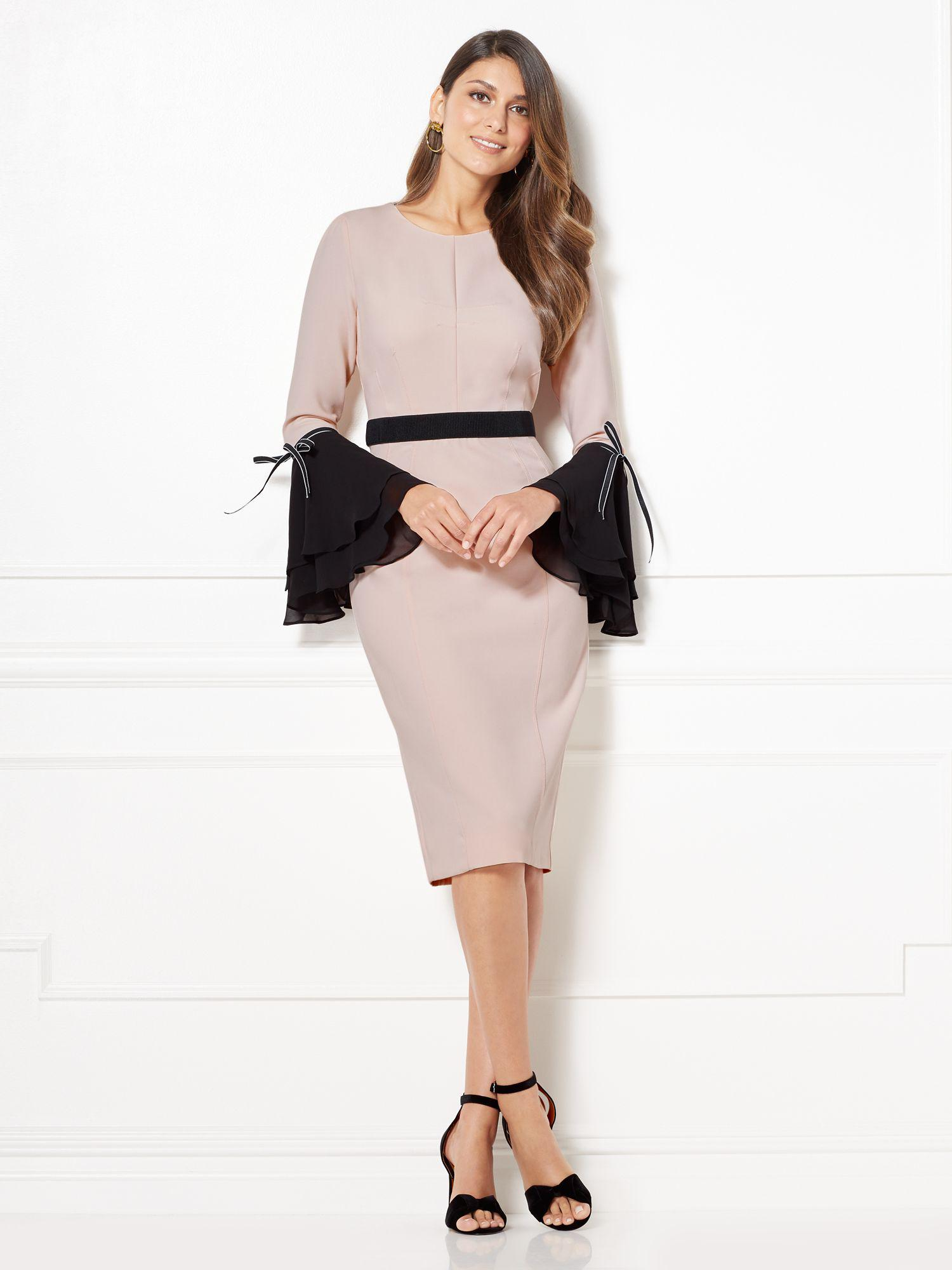 24a7666f8825 Lyst - New York   Company Eva Mendes Collection - Augustina Dress