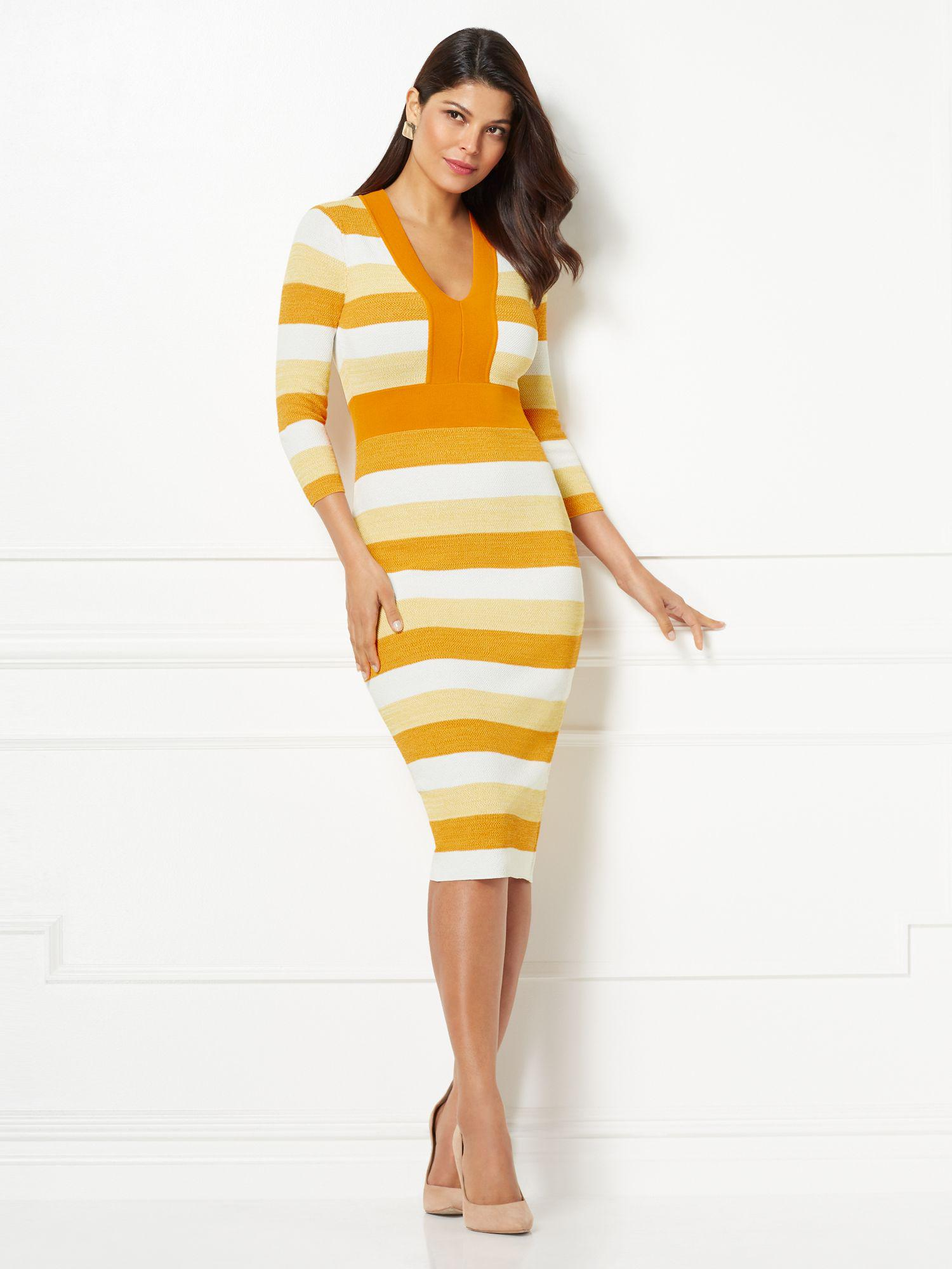 6dc4c7b5c65 Gallery. Previously sold at  New York   Company · Women s Yellow Dresses