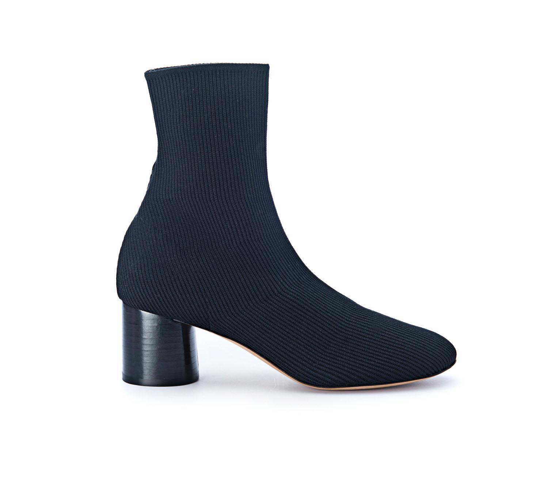 Vince Tasha Sock Bootie In Black Lyst