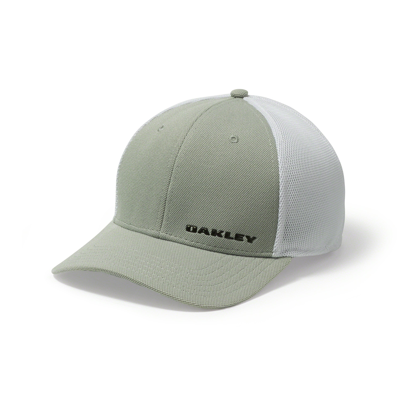 b9b455500bf Oakley - Gray Silicon Bark Trucker 4.0 Golf Hat for Men - Lyst. View  fullscreen