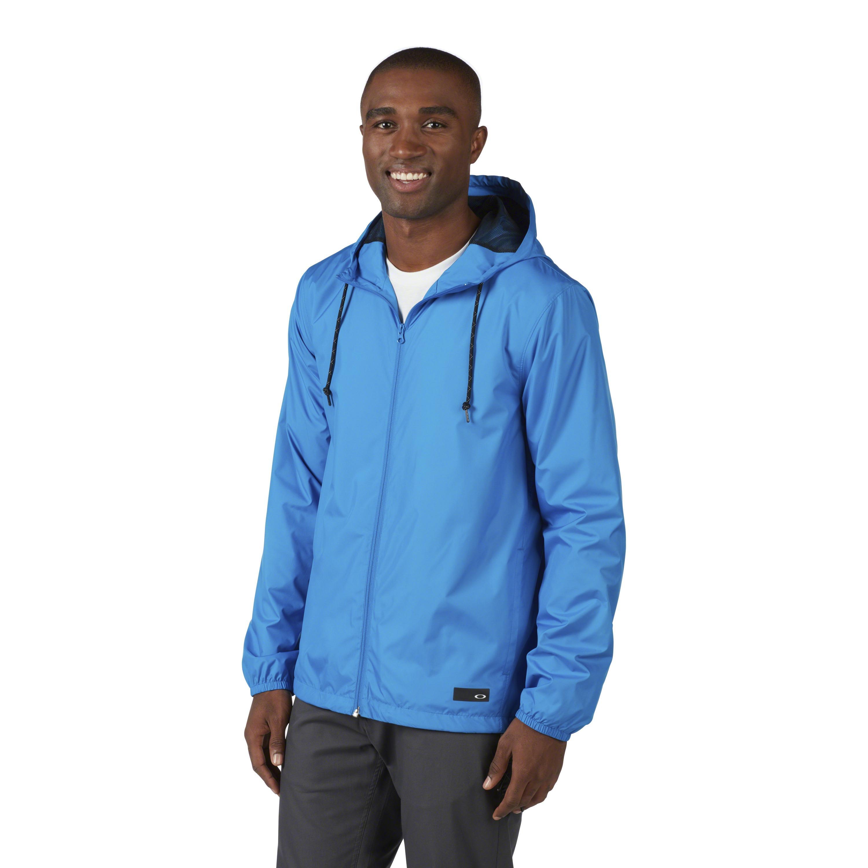 Oakley Synthetisch Ozone 365 Windbreaker Jacket in het Blauw voor heren