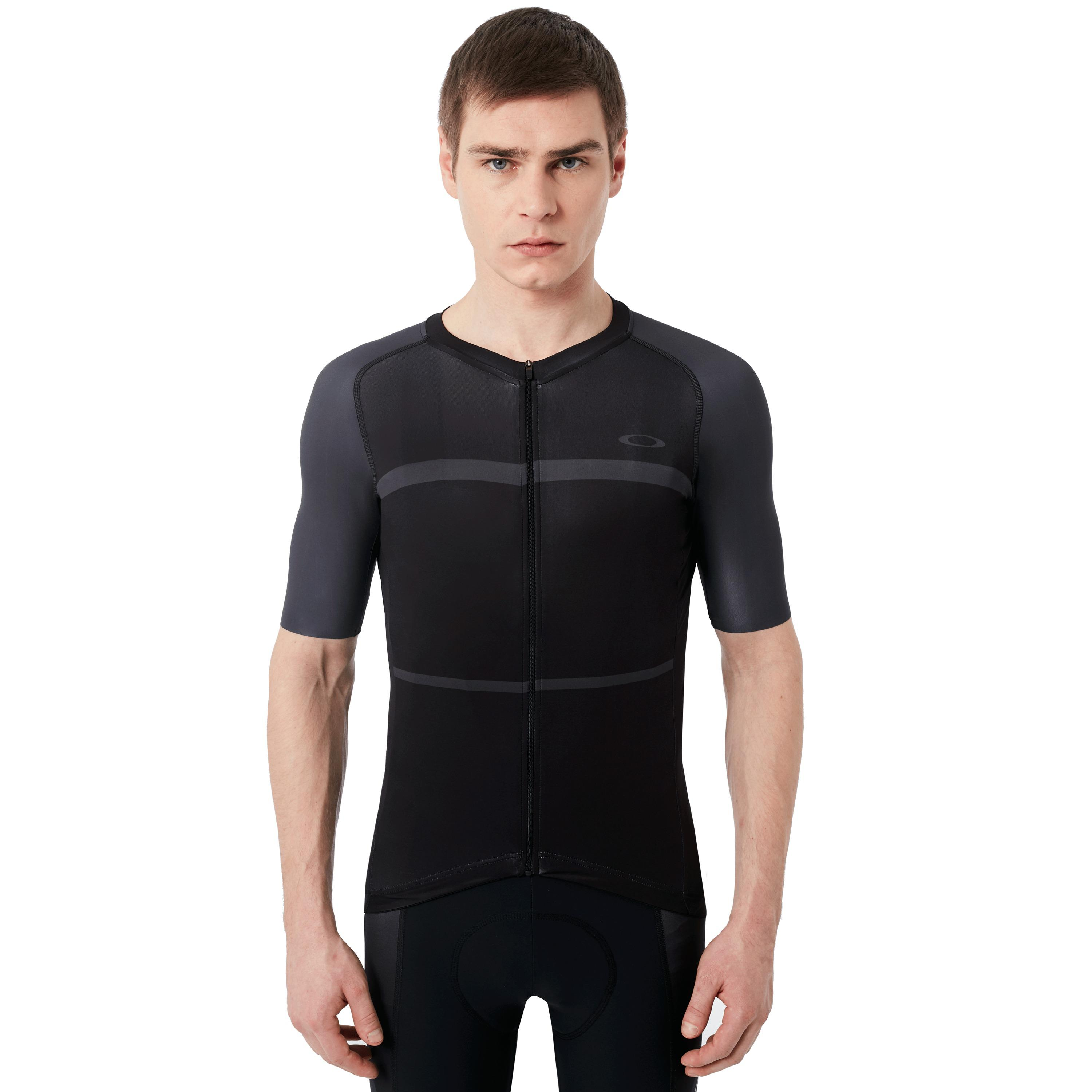 Lyst - Oakley Colorblock Road Jersey in Black for Men 3069a9dde
