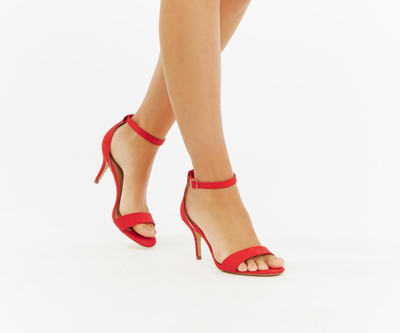 c28d5fa79db2 Oasis Estella Kitten Heel in Red - Lyst