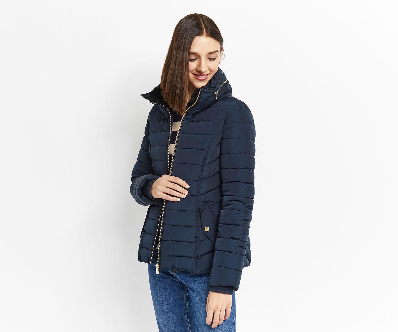 Oasis blue leather jacket
