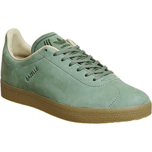 adidas Leather Gazelle Decon in Green
