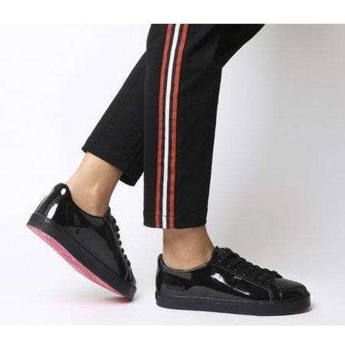 Kickers Leather Tovni Lacer Patent in