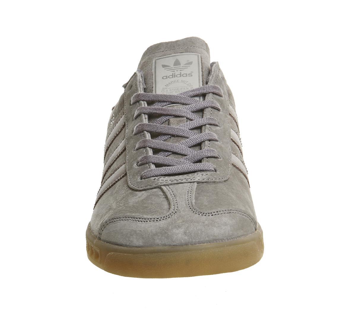 lyst adidas originali di amburgo in grigio per gli uomini.