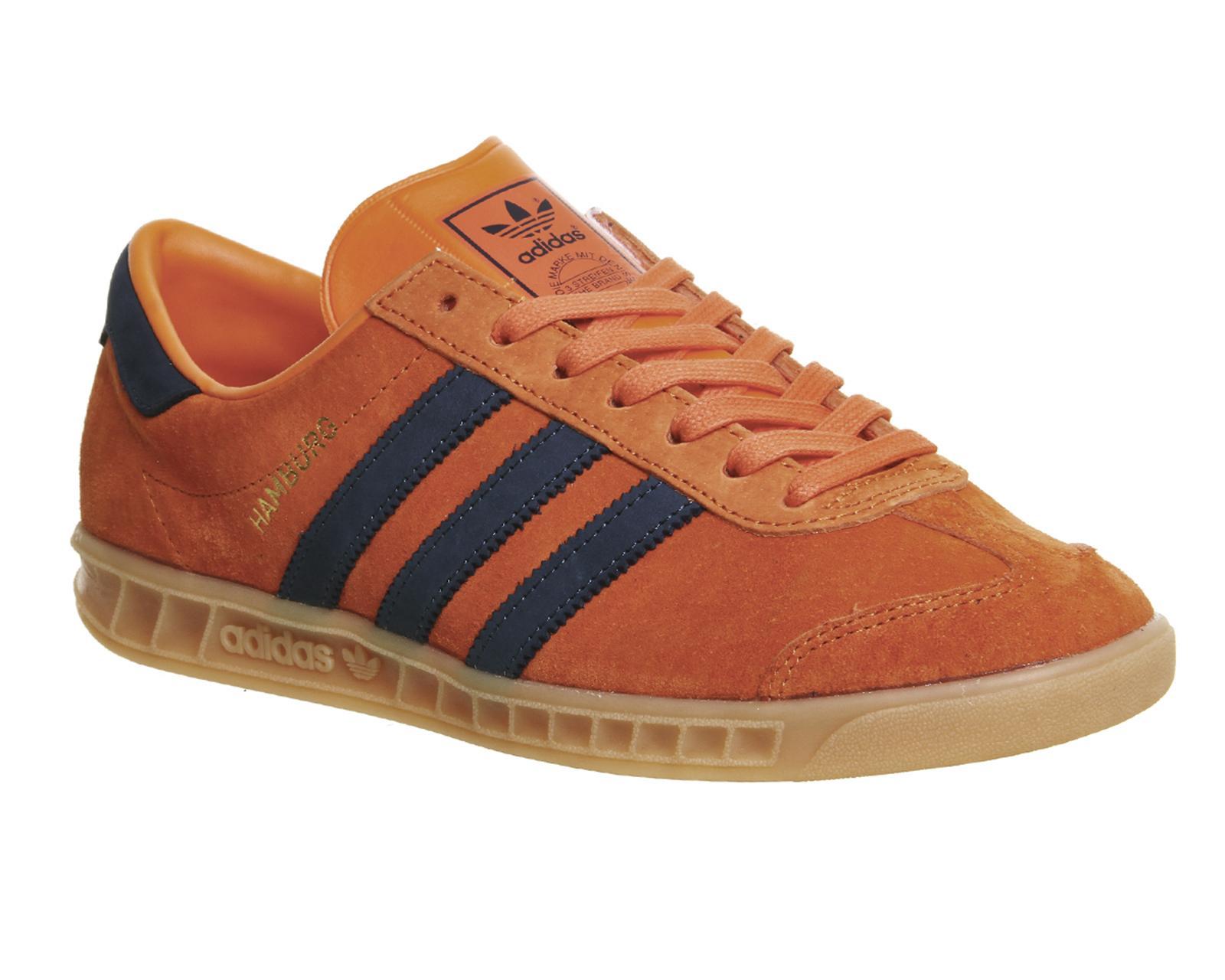 adidas Originals Hamburg in Orange for Men - Lyst