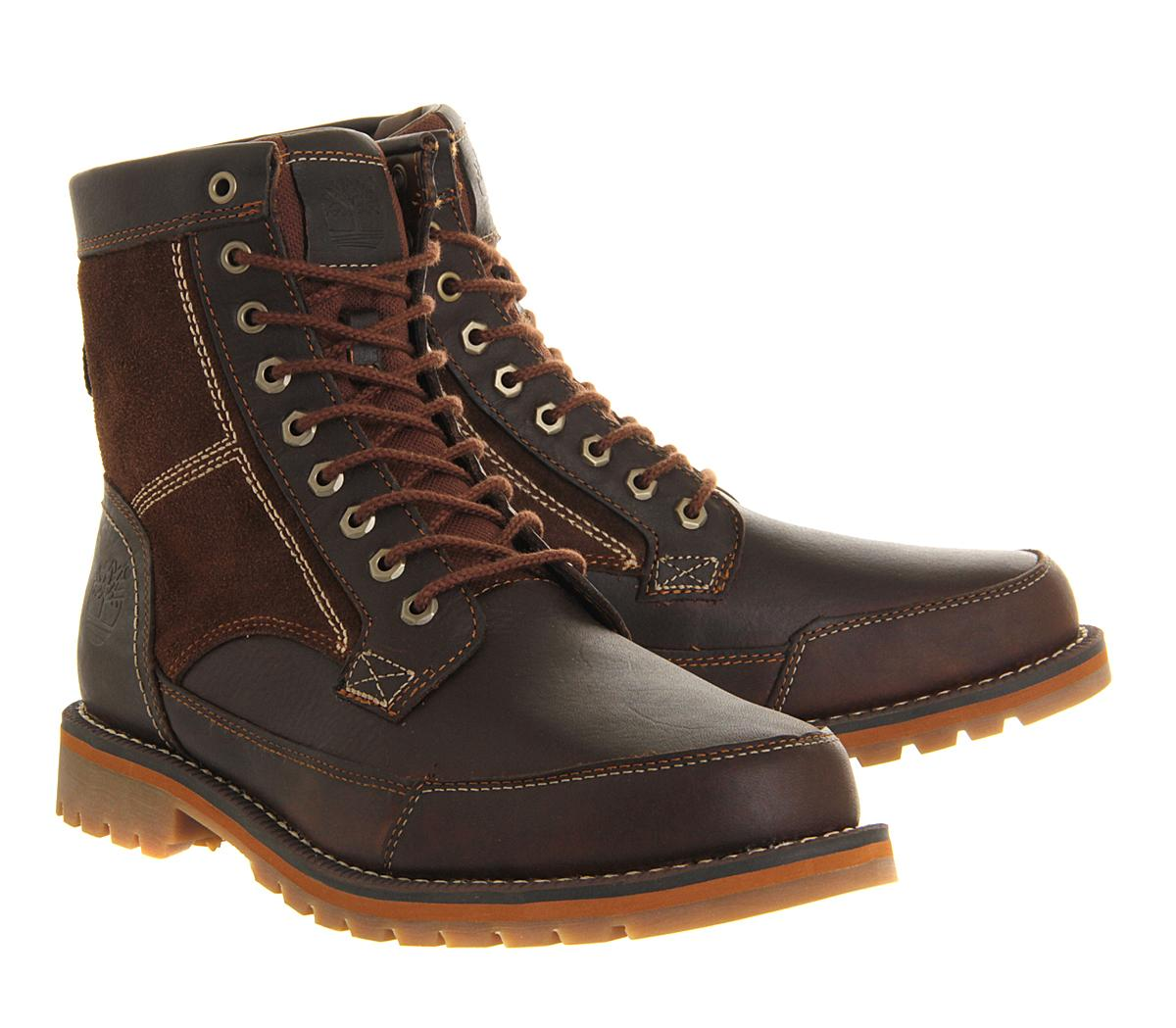 Timberland Larchmont 6 Inch Boots in Red for Men | Lyst