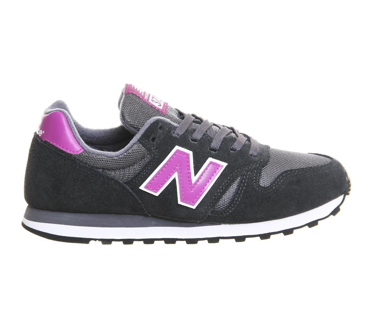 new balance wl373 trainers in gray for men lyst. Black Bedroom Furniture Sets. Home Design Ideas
