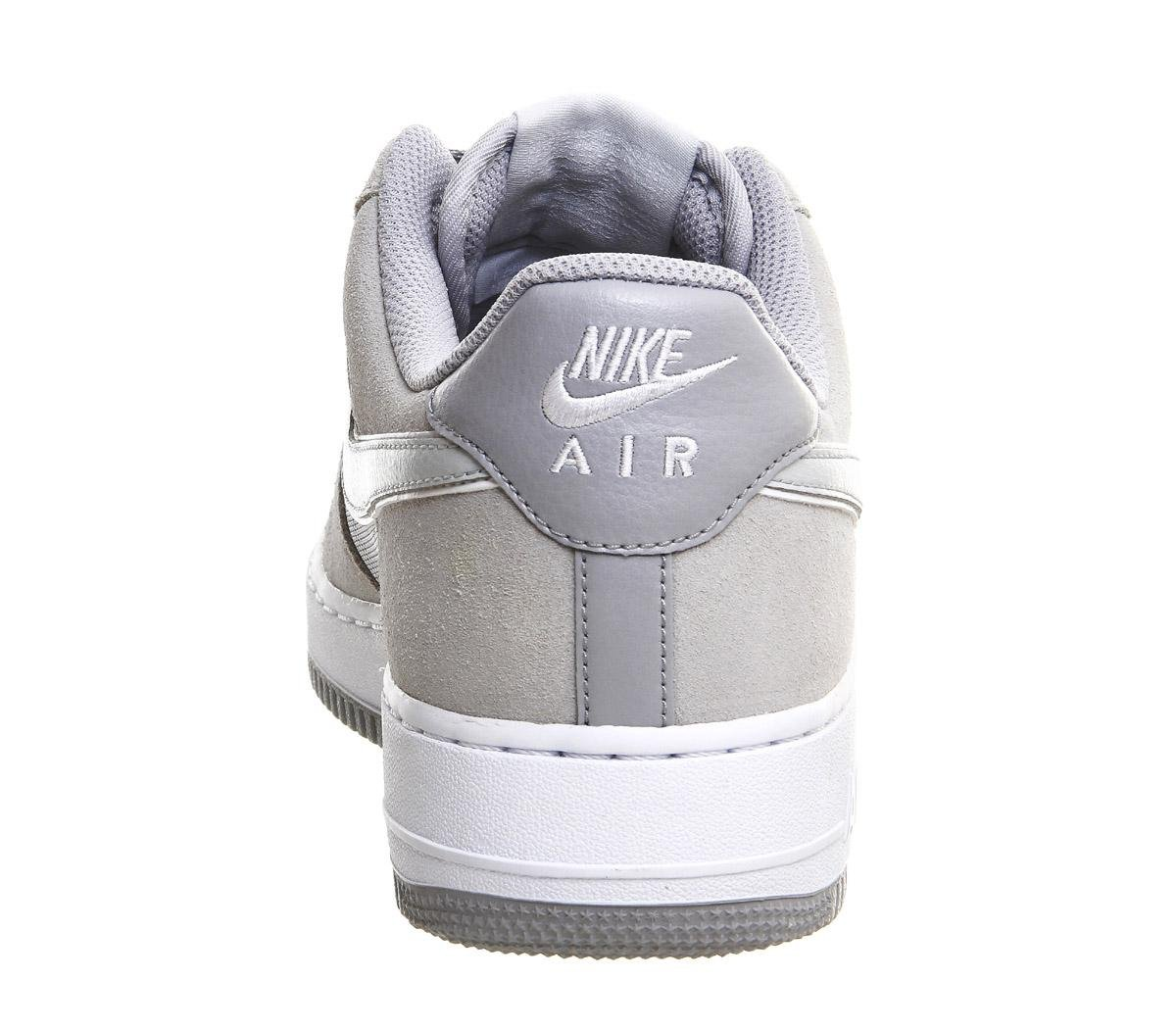 Nike Suede Air Force One (m) in Grey (Grey) for Men