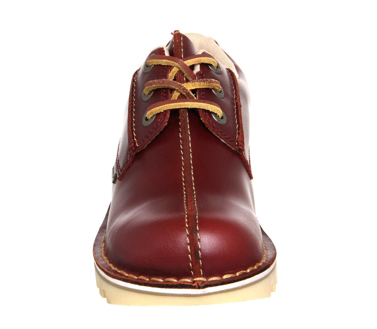 Kickers Kick Reverse Shoes In Red For Men Lyst