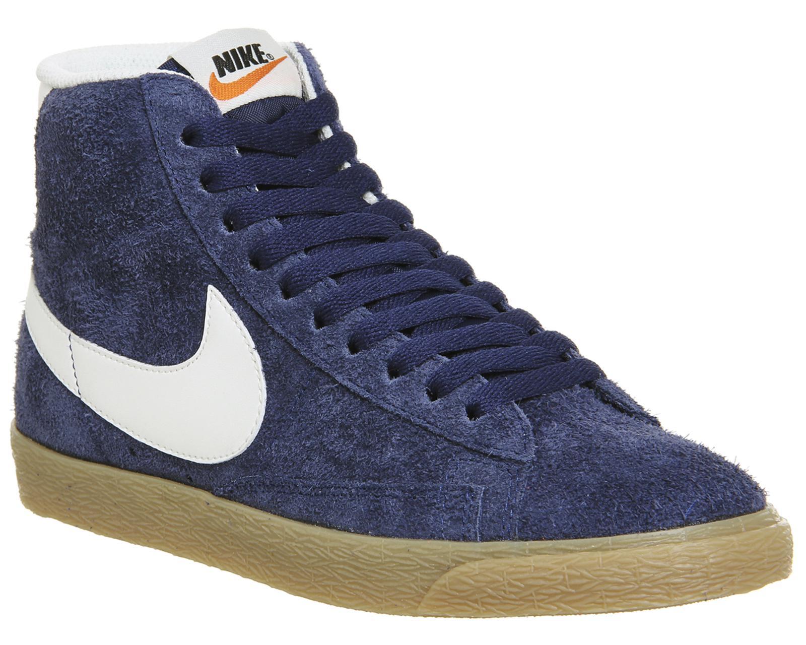 Nike Blazer Mid In Blue For Men - Lyst