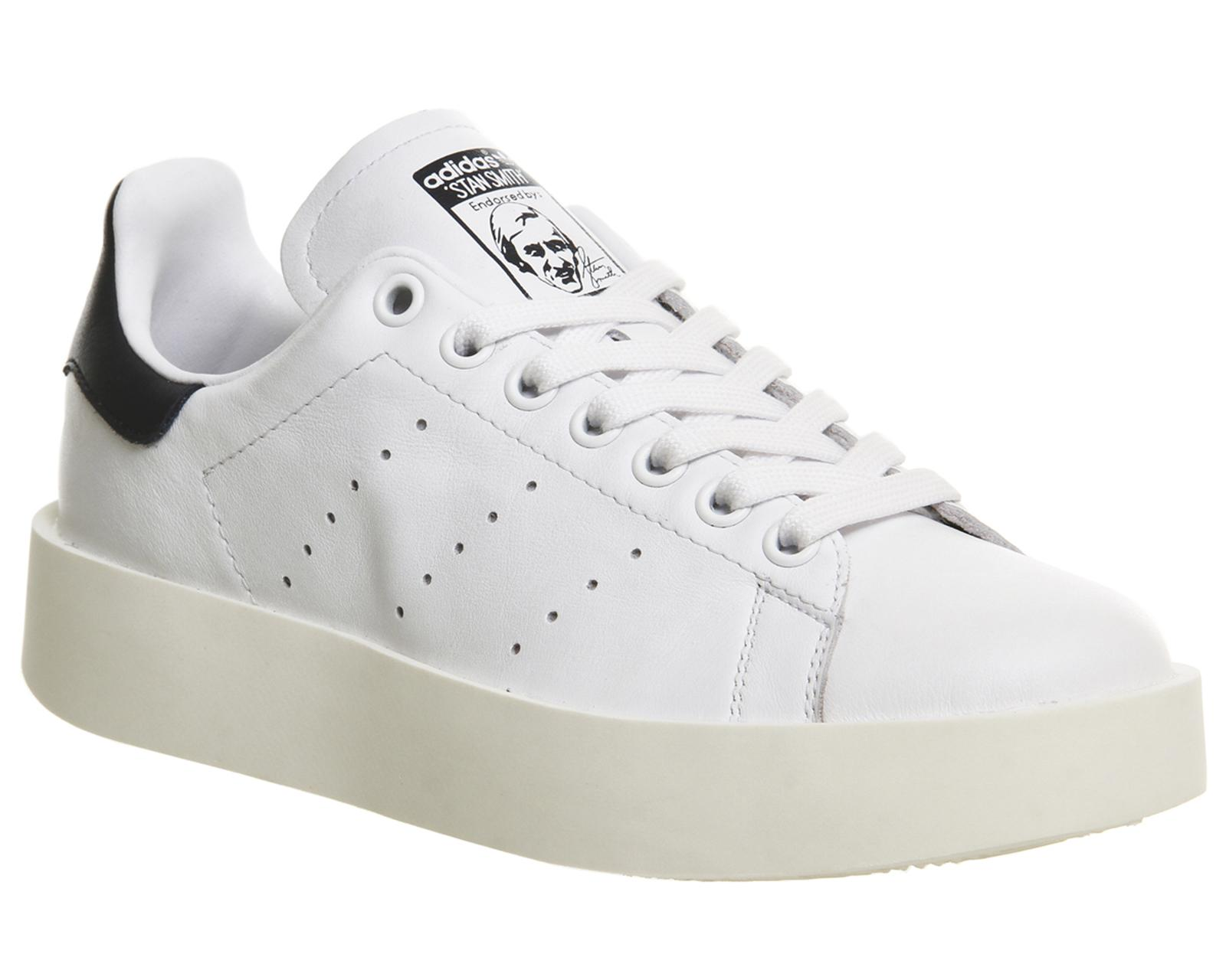 adidas Originals Leather Stan Smith Bold in White for Men - Lyst