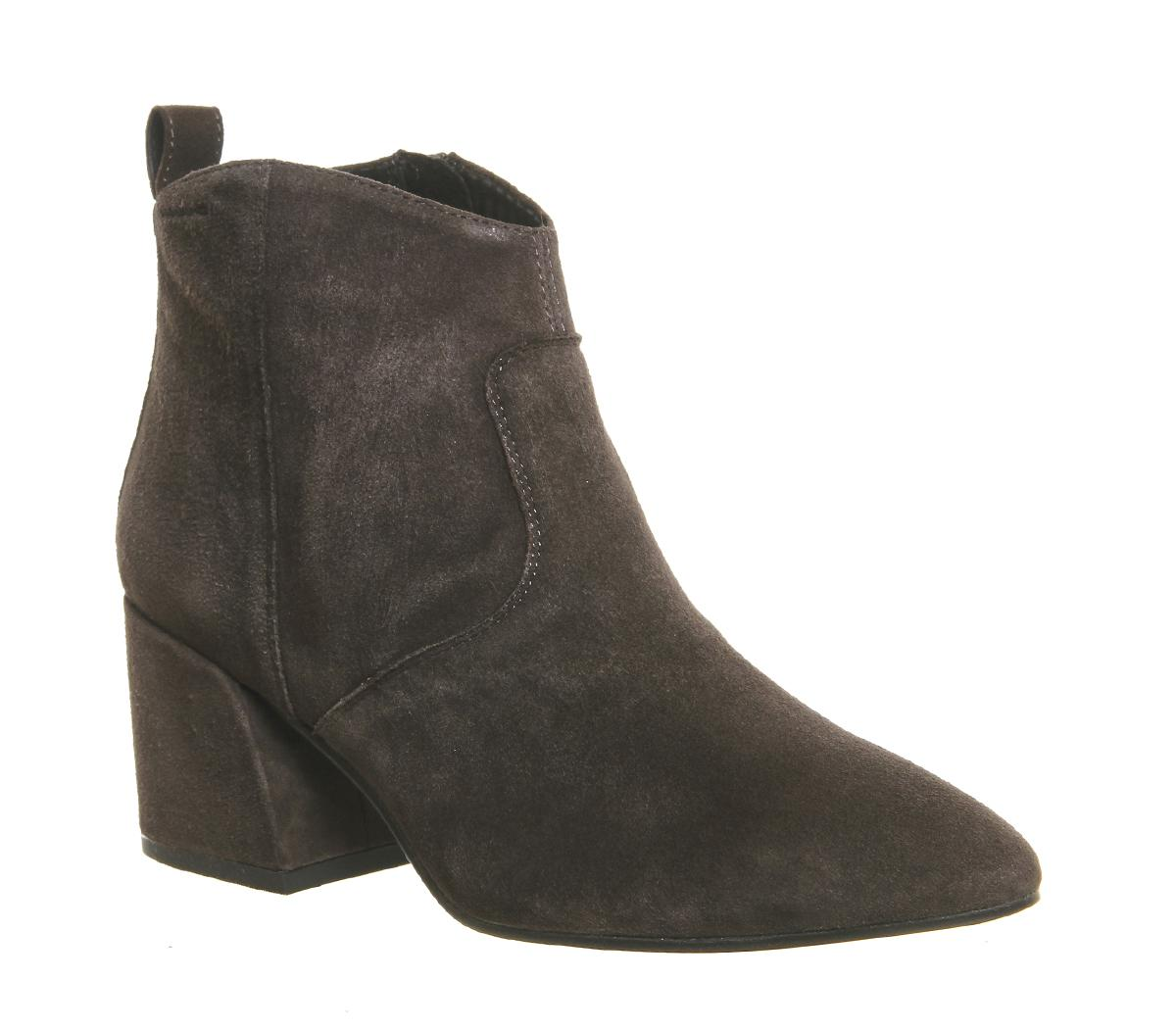 Vagabond Olivia Ankle Boots In Gray