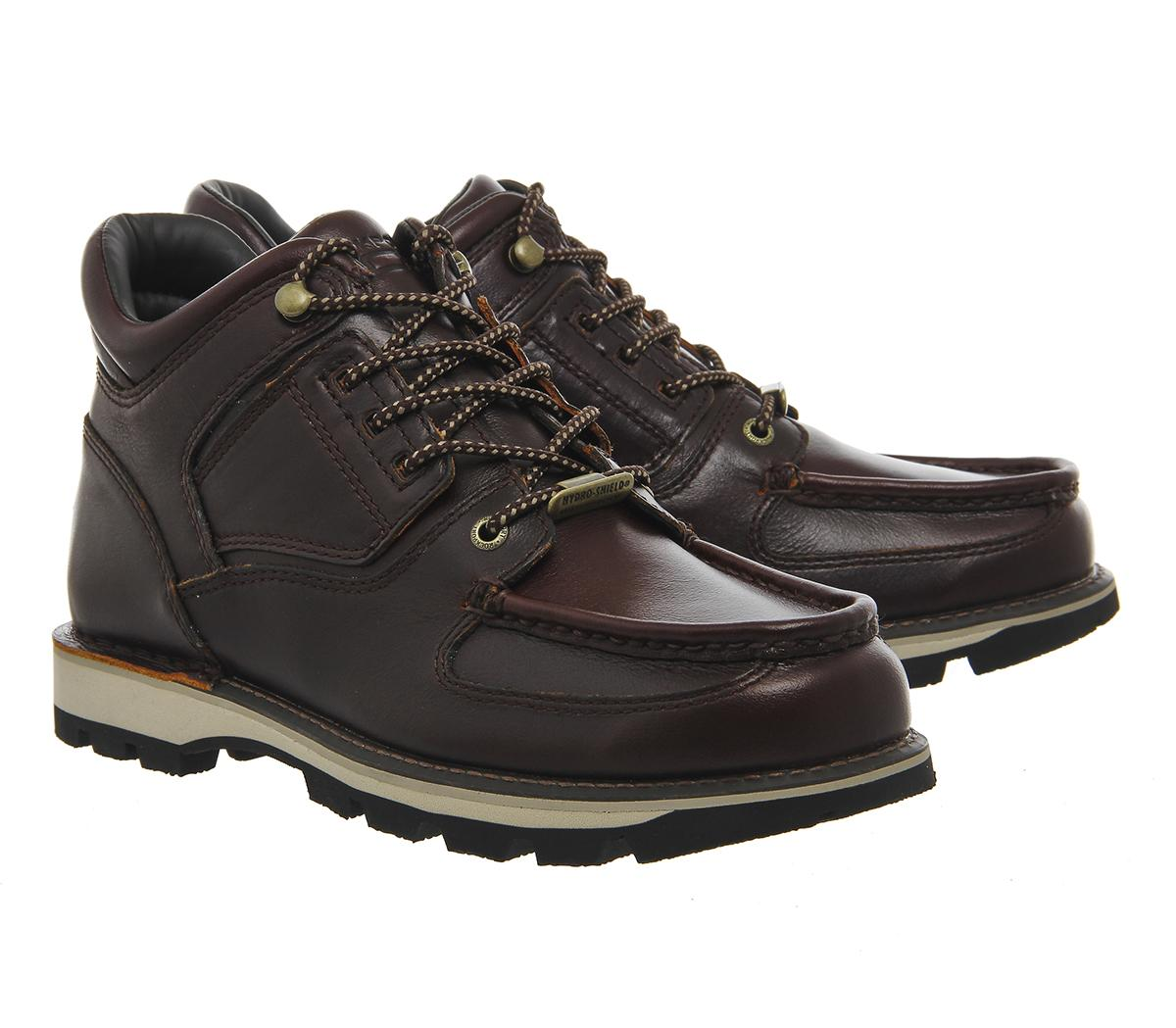 Rockport Umbwe Boots In Brown For Men Lyst