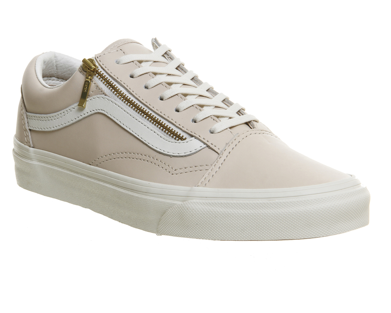 vans old skool in beige pink lyst. Black Bedroom Furniture Sets. Home Design Ideas